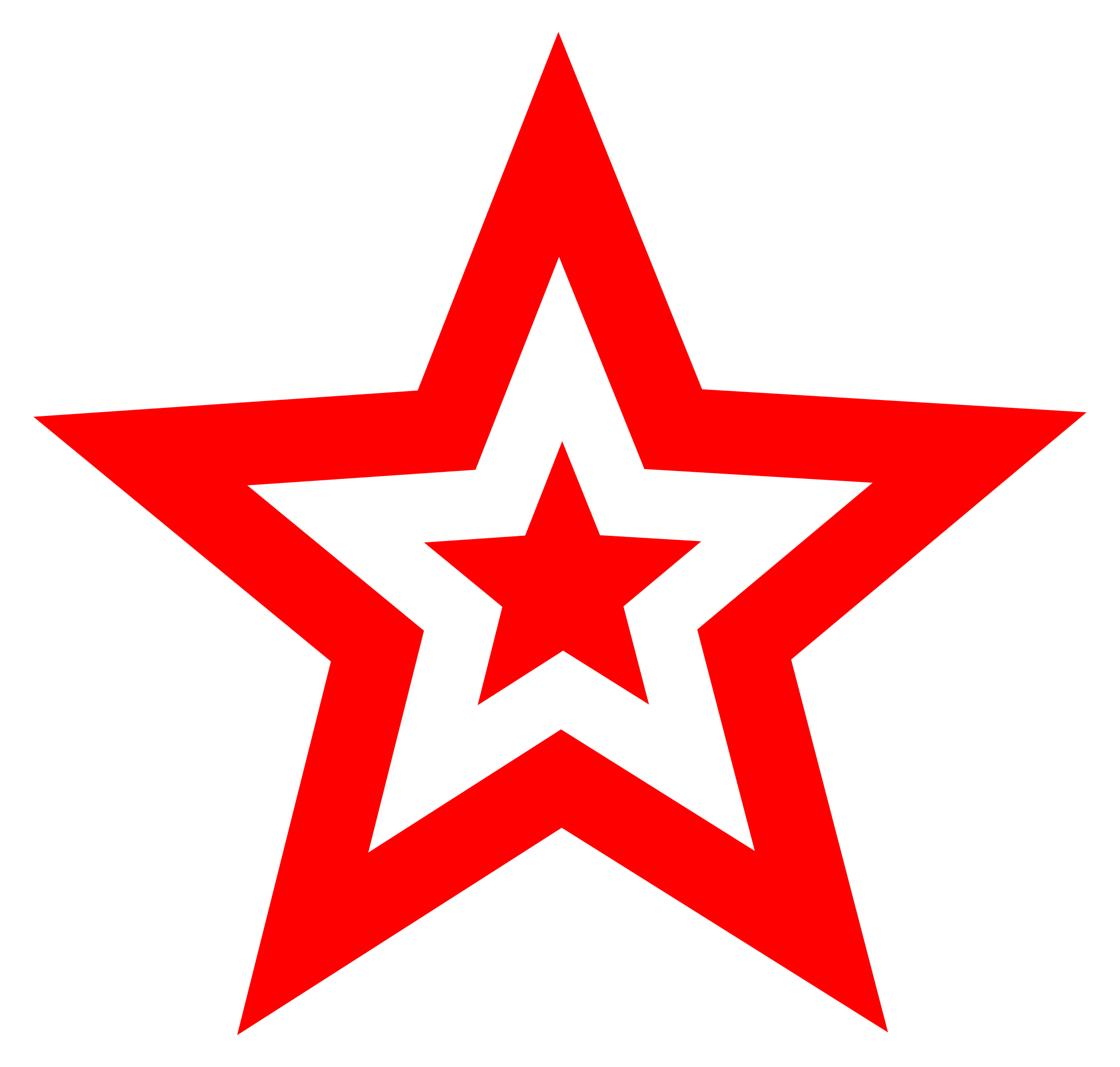 clipart red star in star rh openclipart org red star images clipart red shooting star clip art