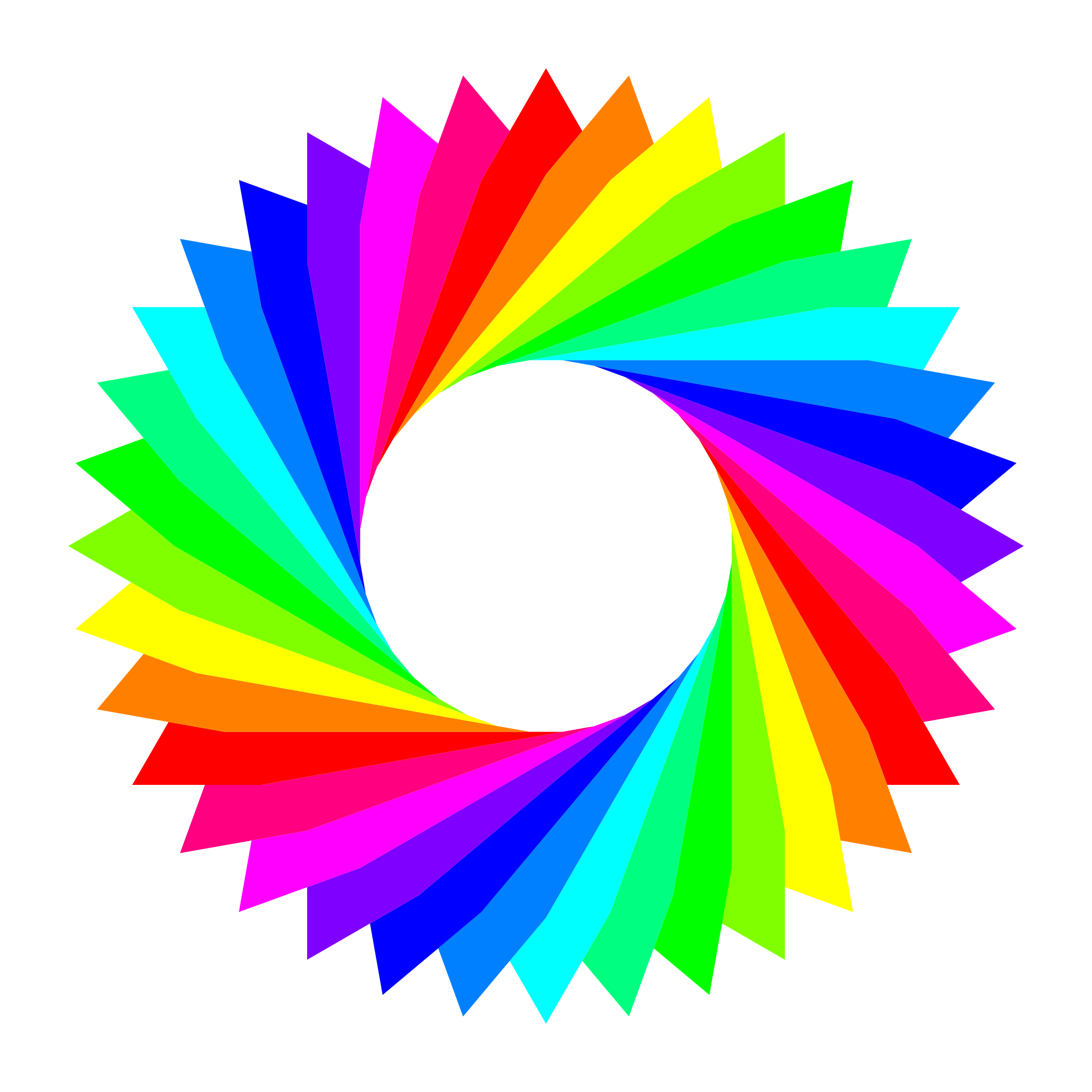 12 color 36gram triangles by 10binary