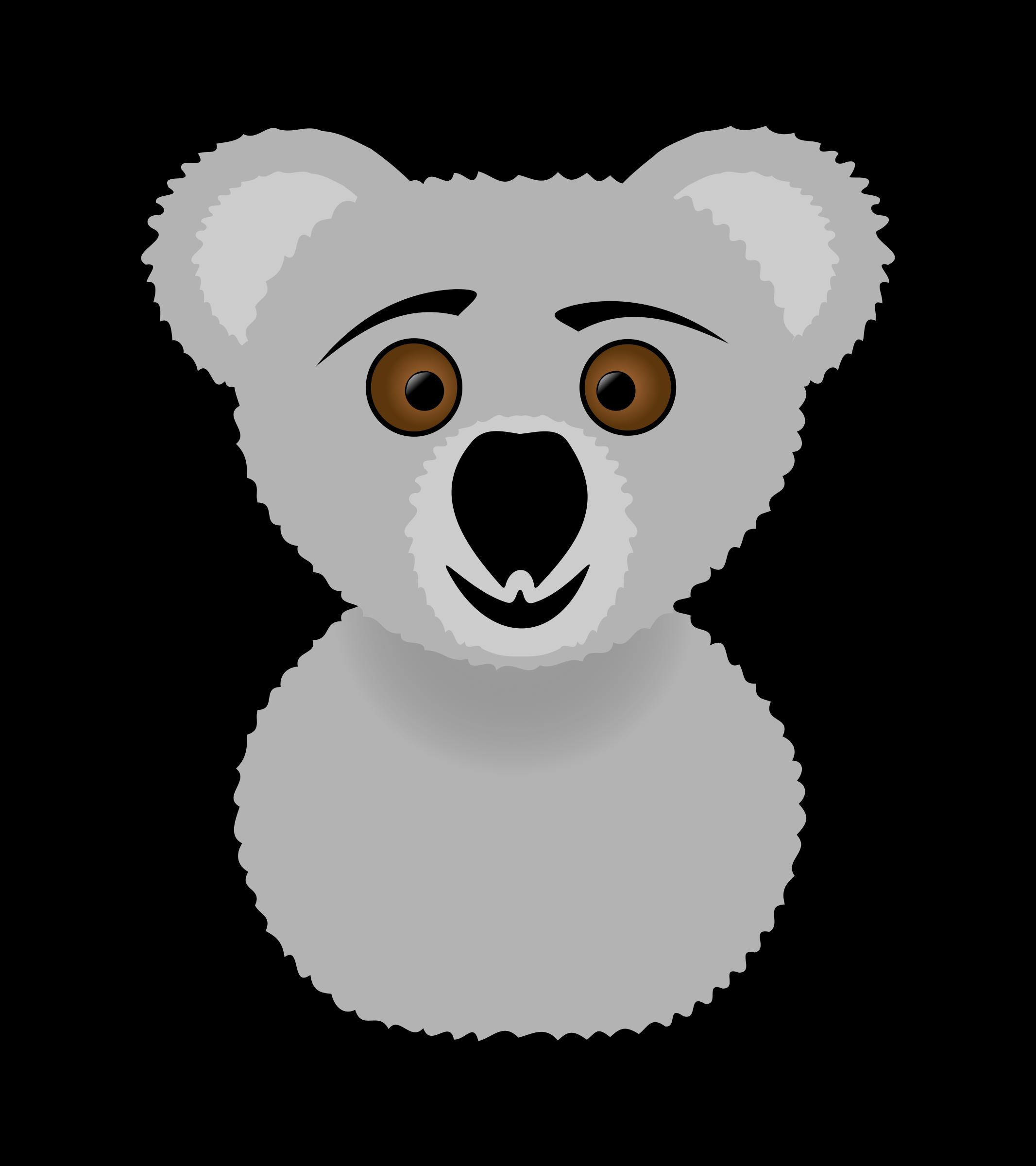 Clipart - koala