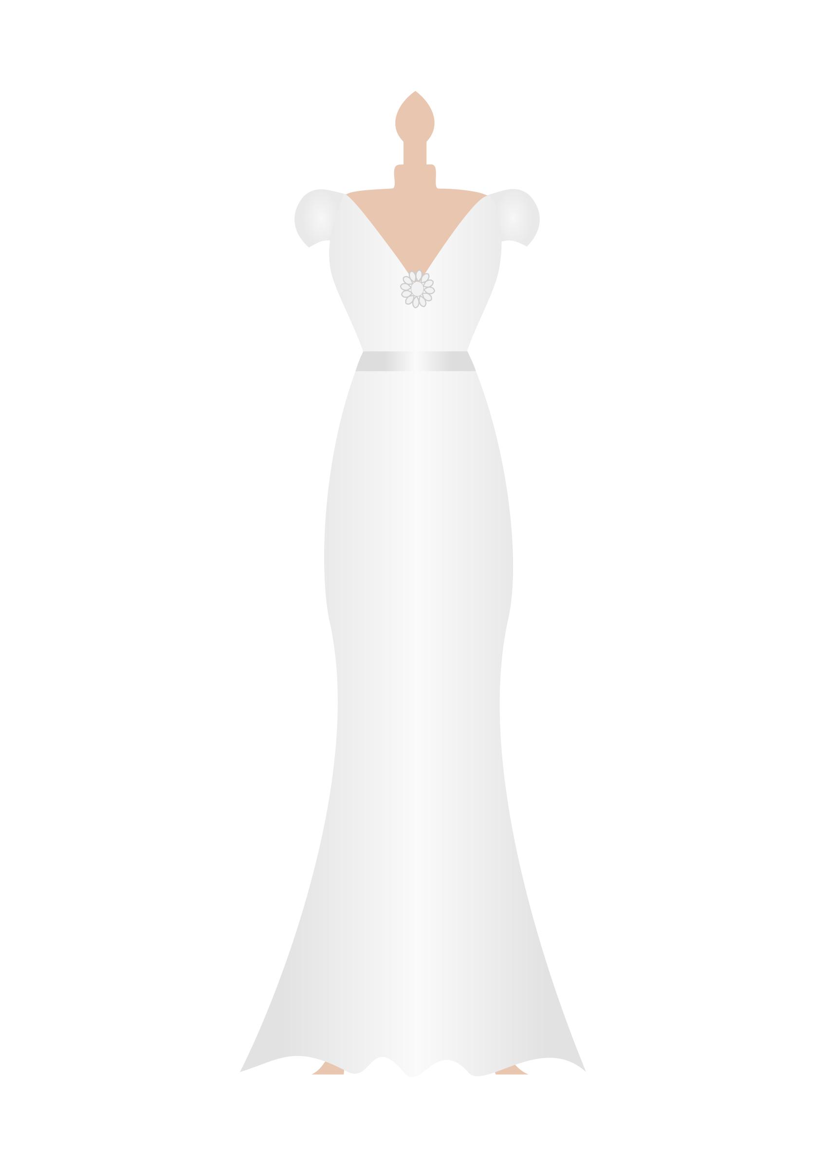 Clipart Wedding Dress