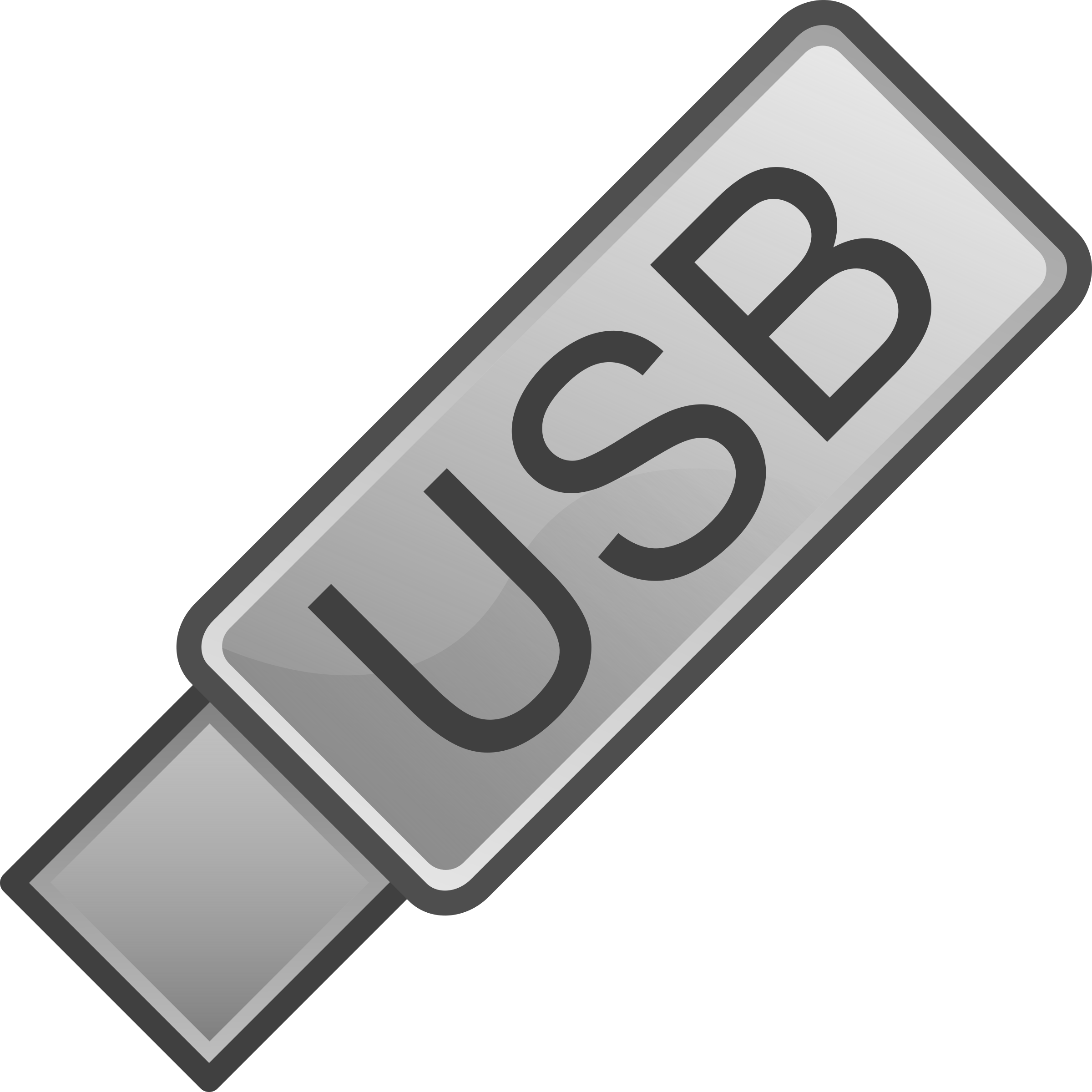 USB Flash Drive Icon by _TyIzaeL_
