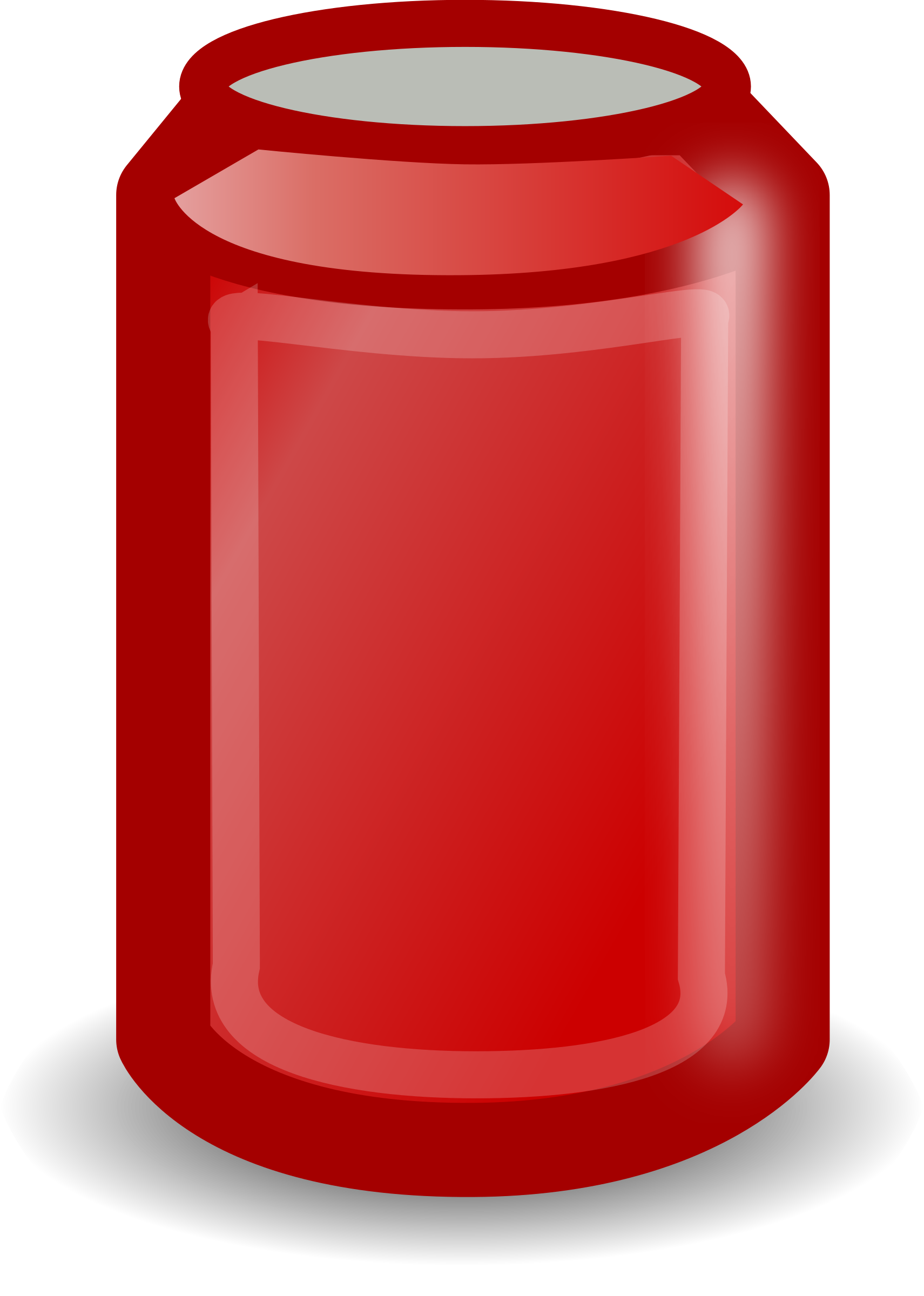 Red can by b.gaultier