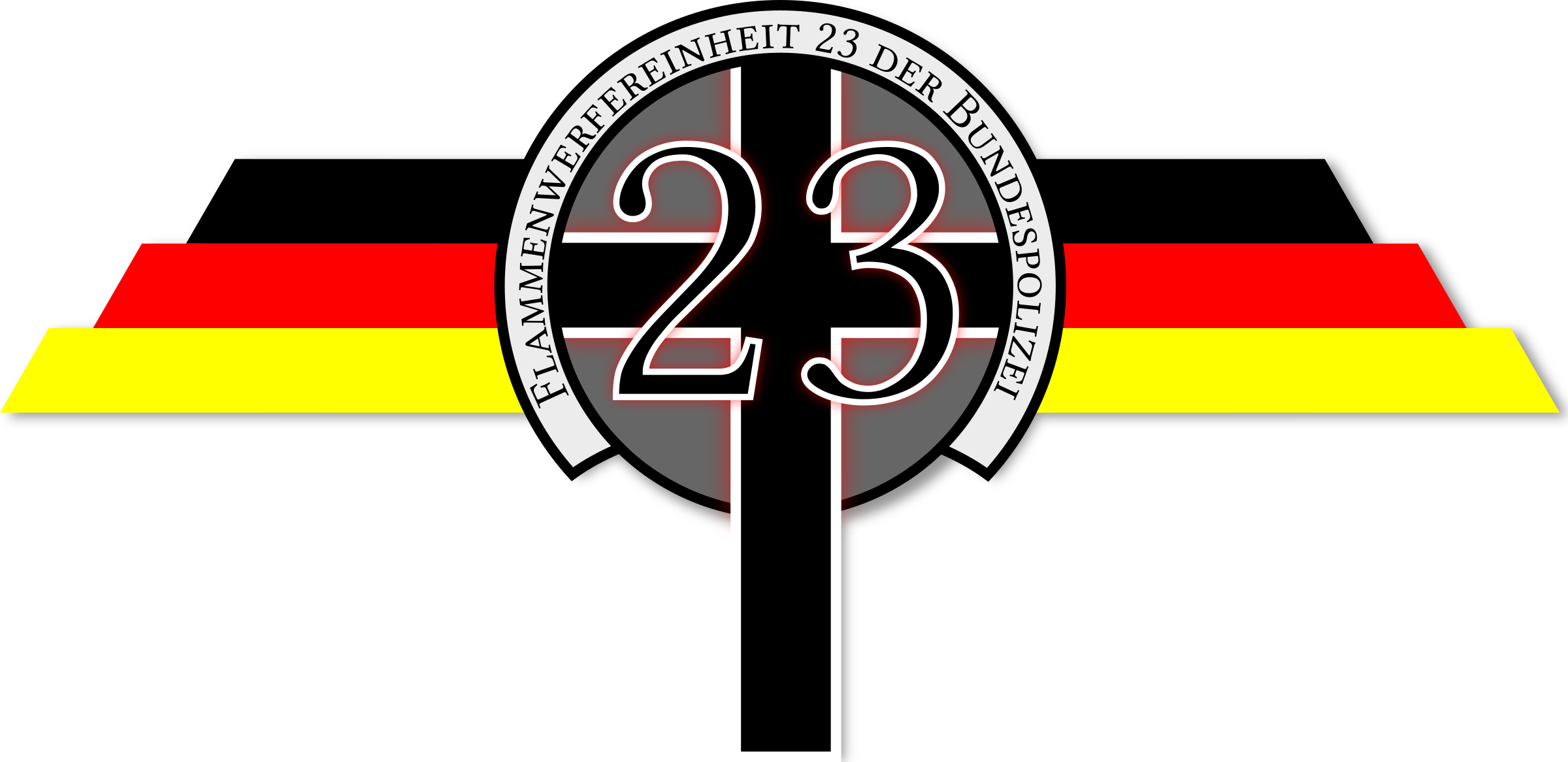 Flame Thrower Police Squad 23 Logo by flamethrowerpolice