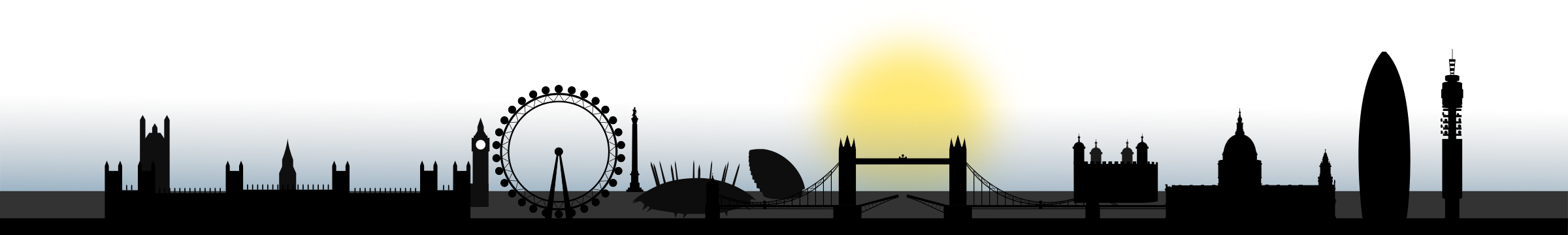 London Skyline 2.0 by ryrych