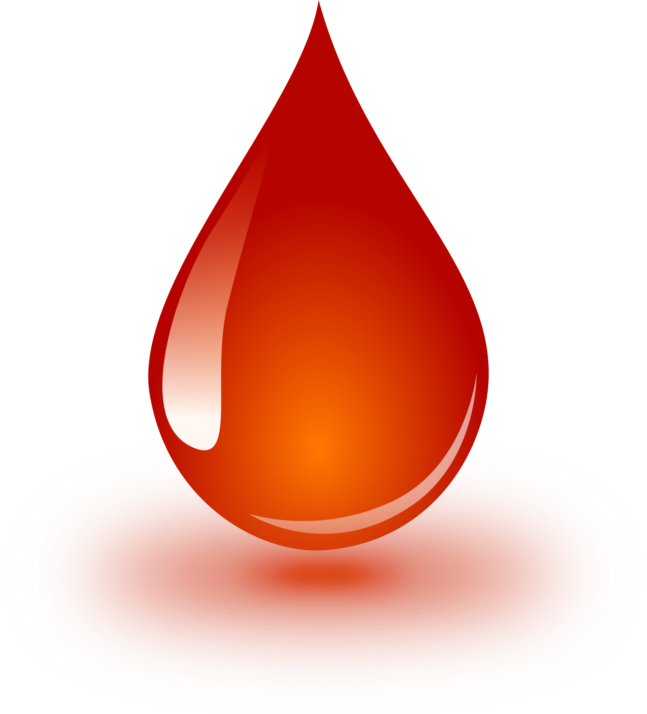 clipart blood drop
