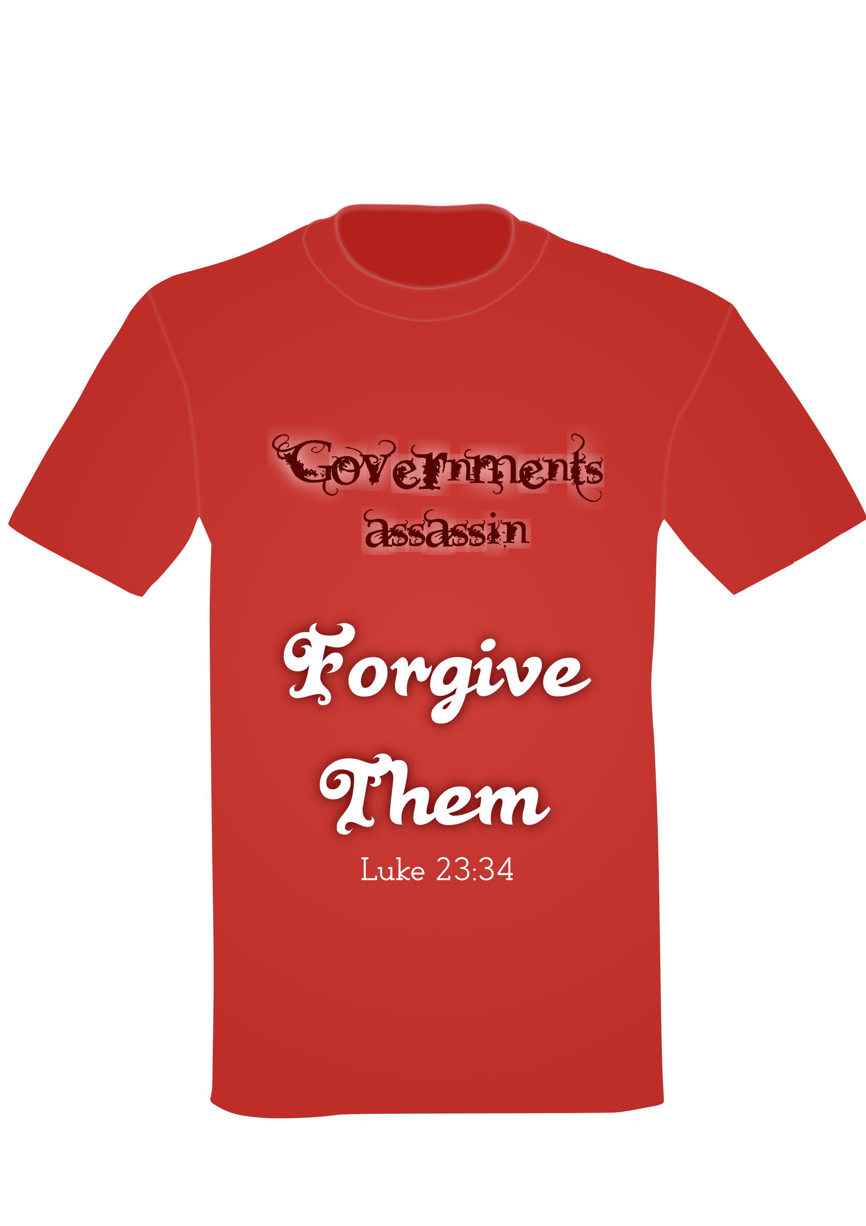 T-Shirt Forgive by nitiraseem