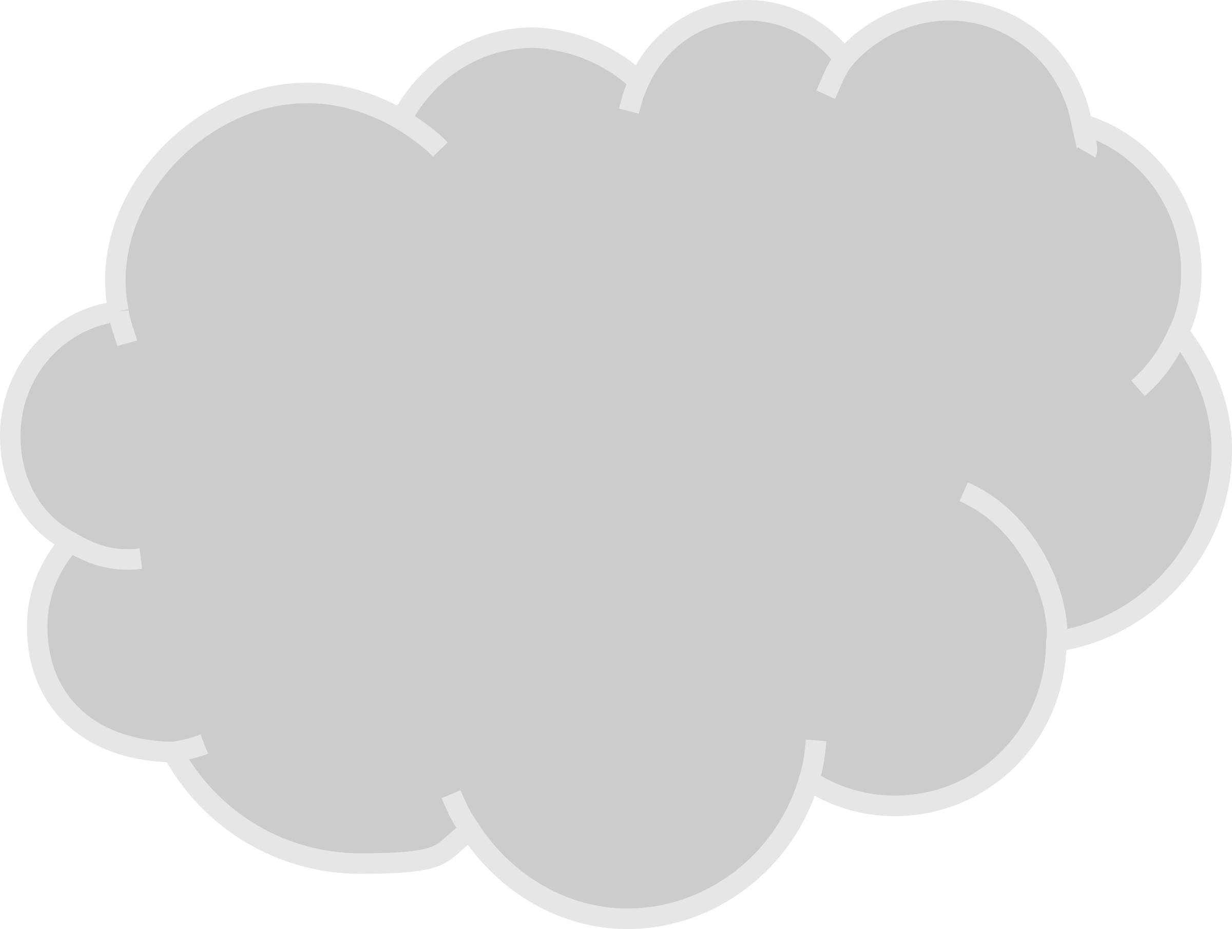 clipart cloud gray