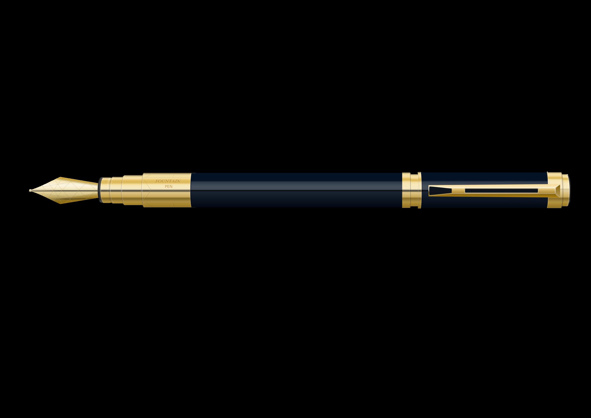 Clipart - Fountain Pen - 97.3KB