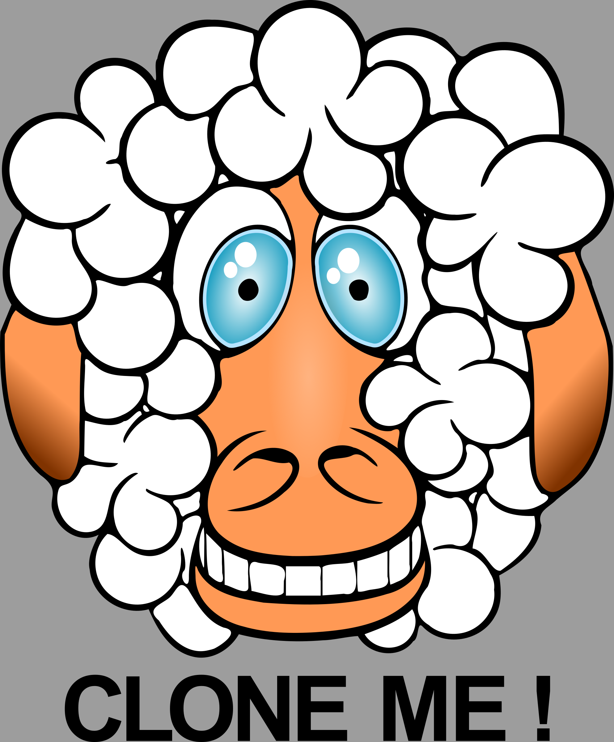 funny sheep by Chrisdesign