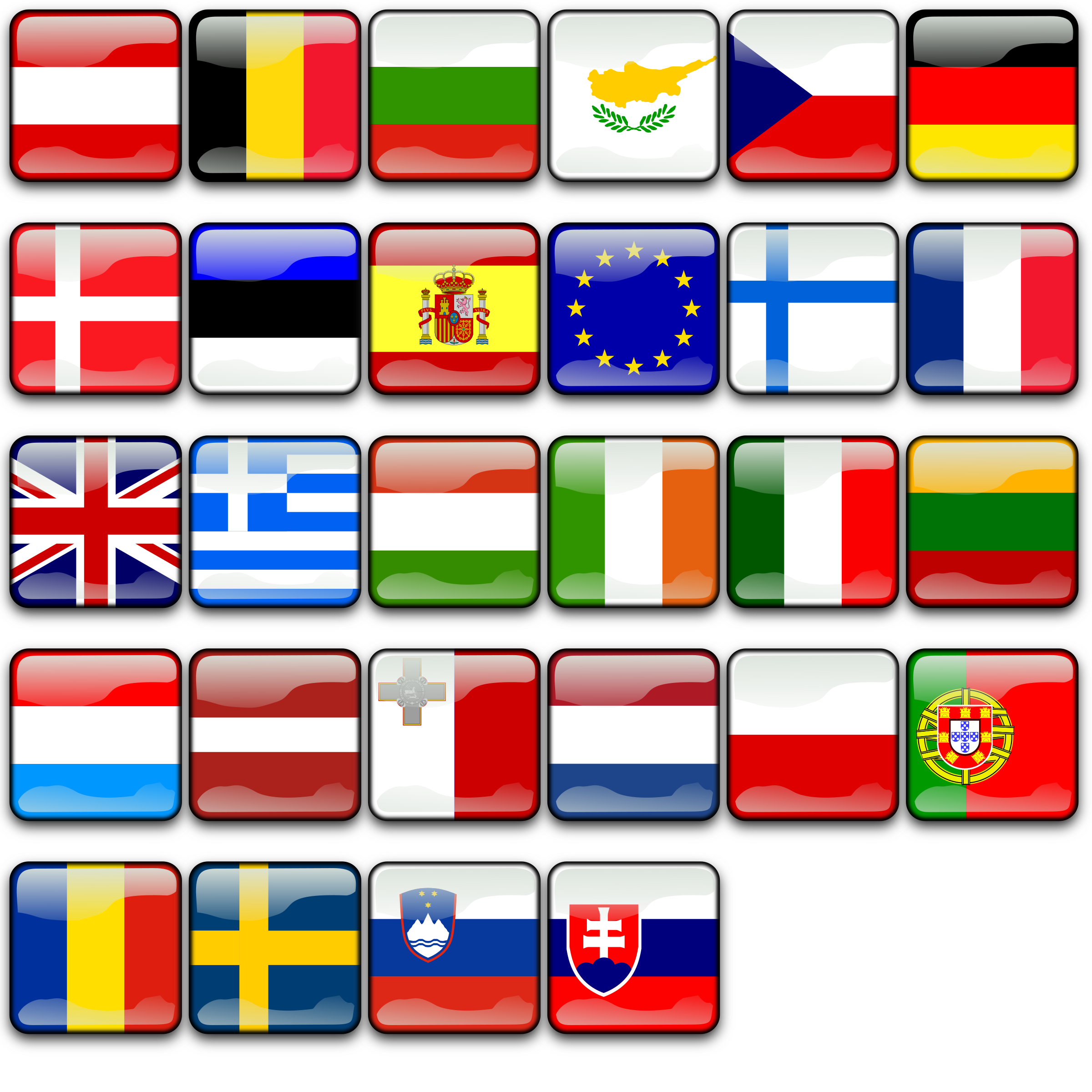 Flags of Europe by koppi