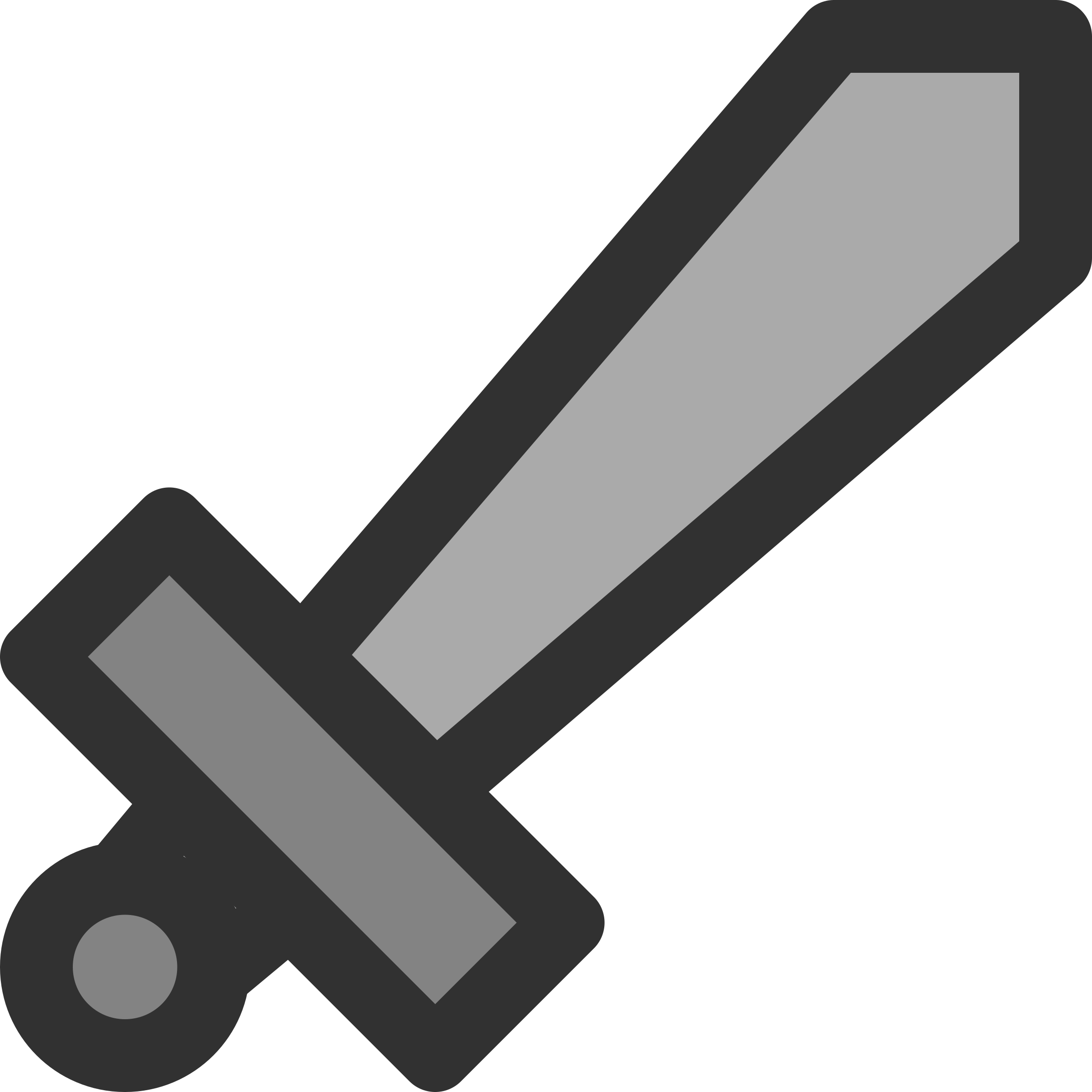 Metal Sword Icon by qubodup