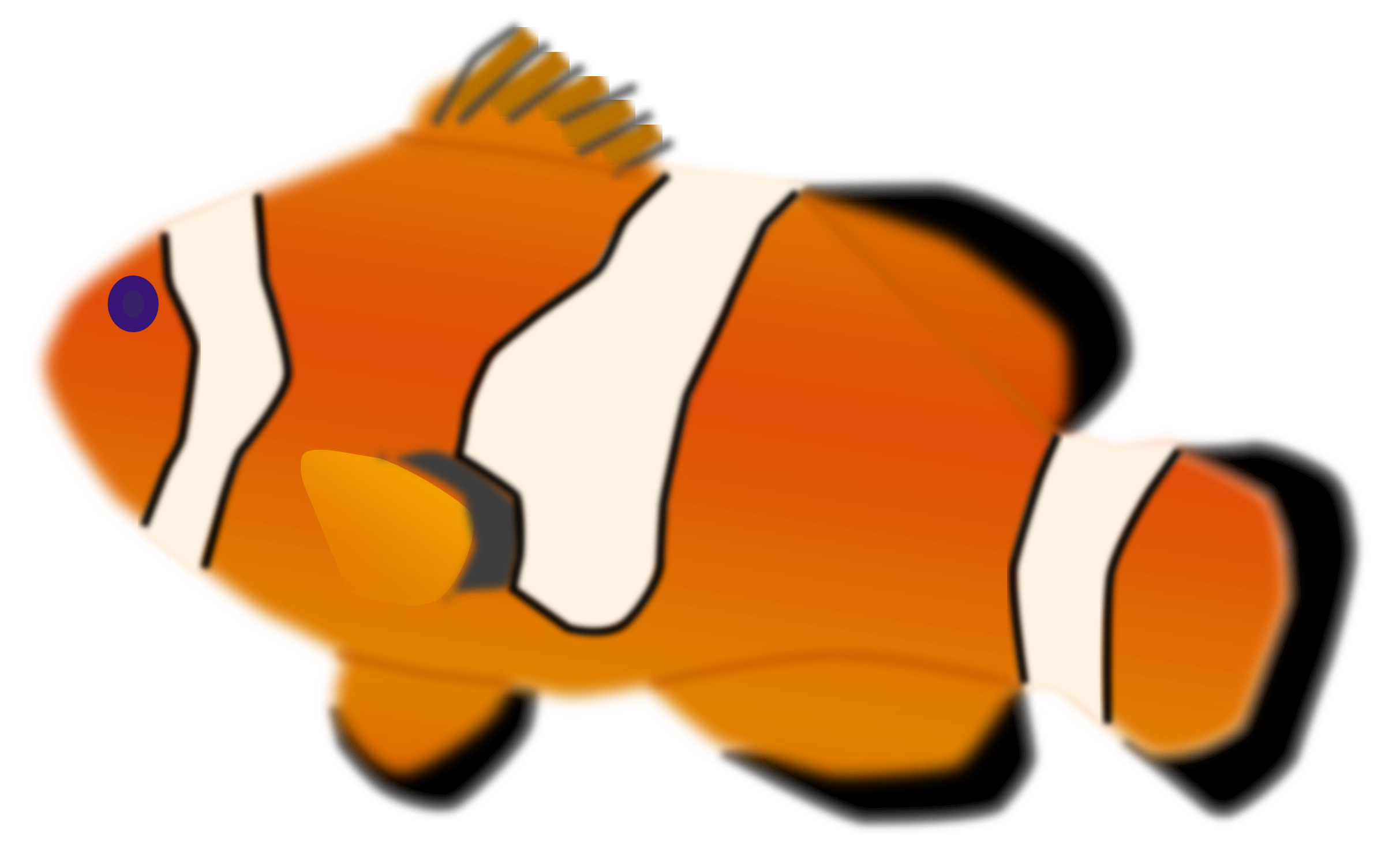 Aquarium fish - Amphiprion percula by mystica