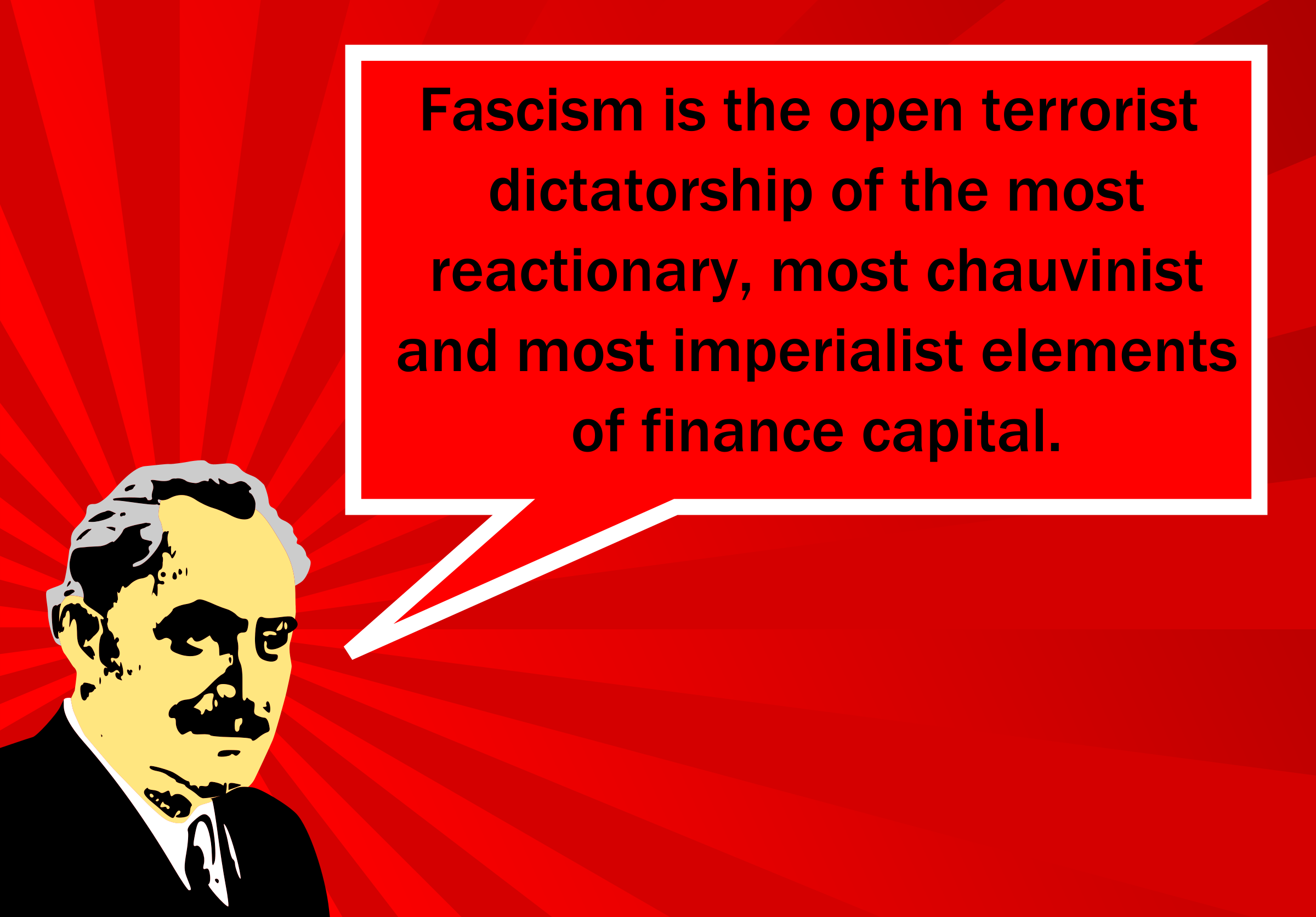 Georgi Dimitrov's definition of fascism by worker