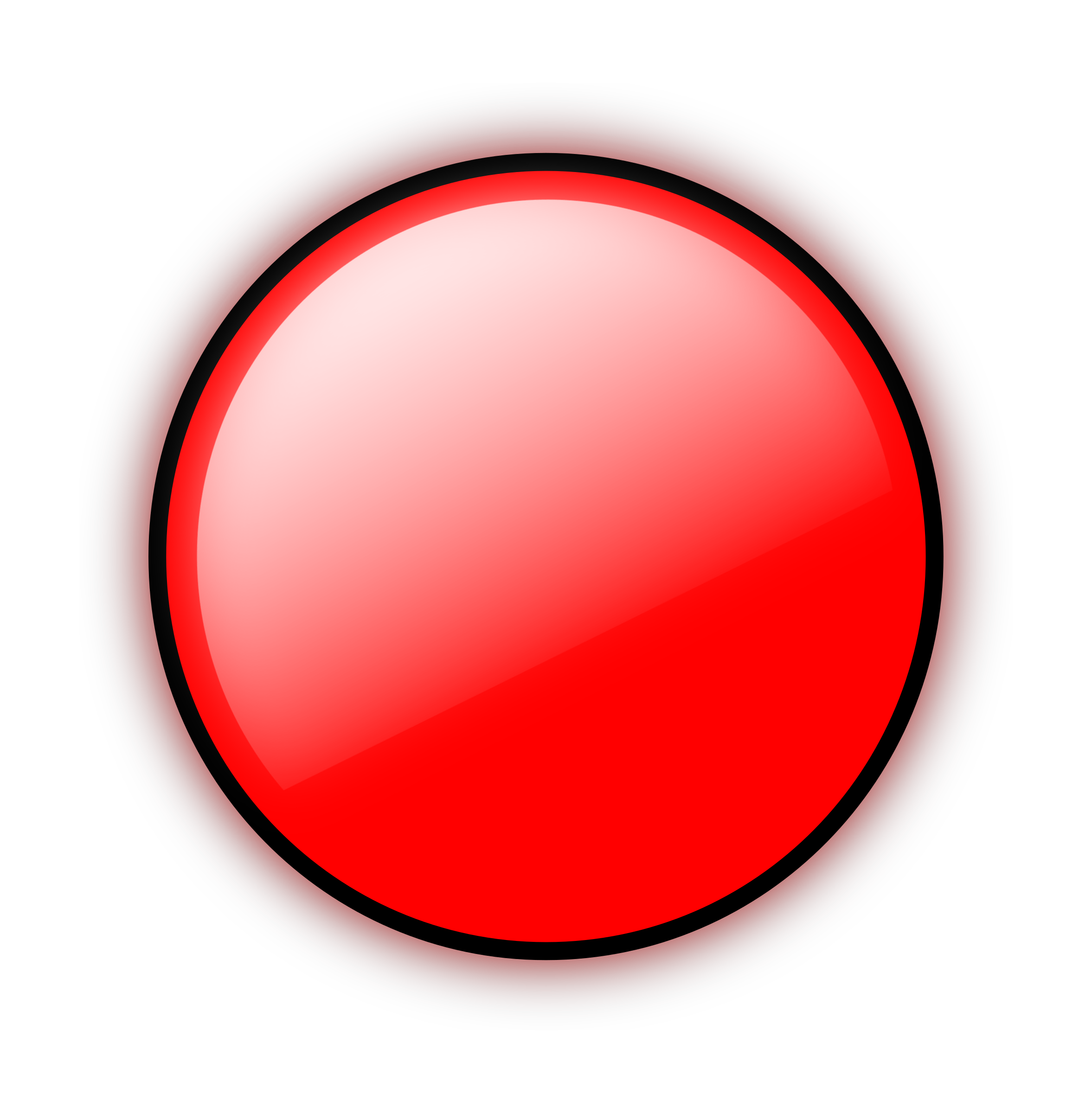 Clipart - Red Circle