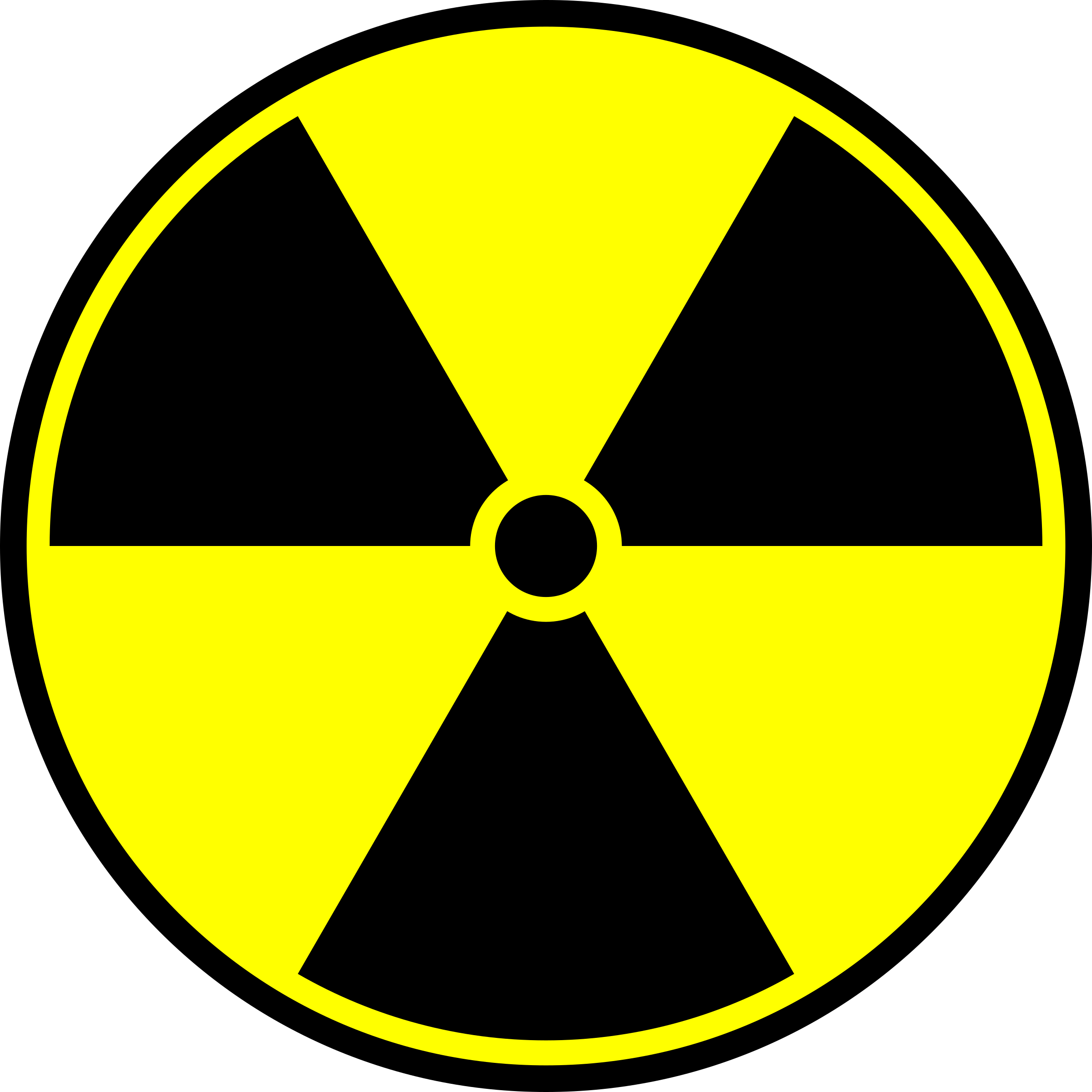 Radioactive symbol by IncessantBlabber