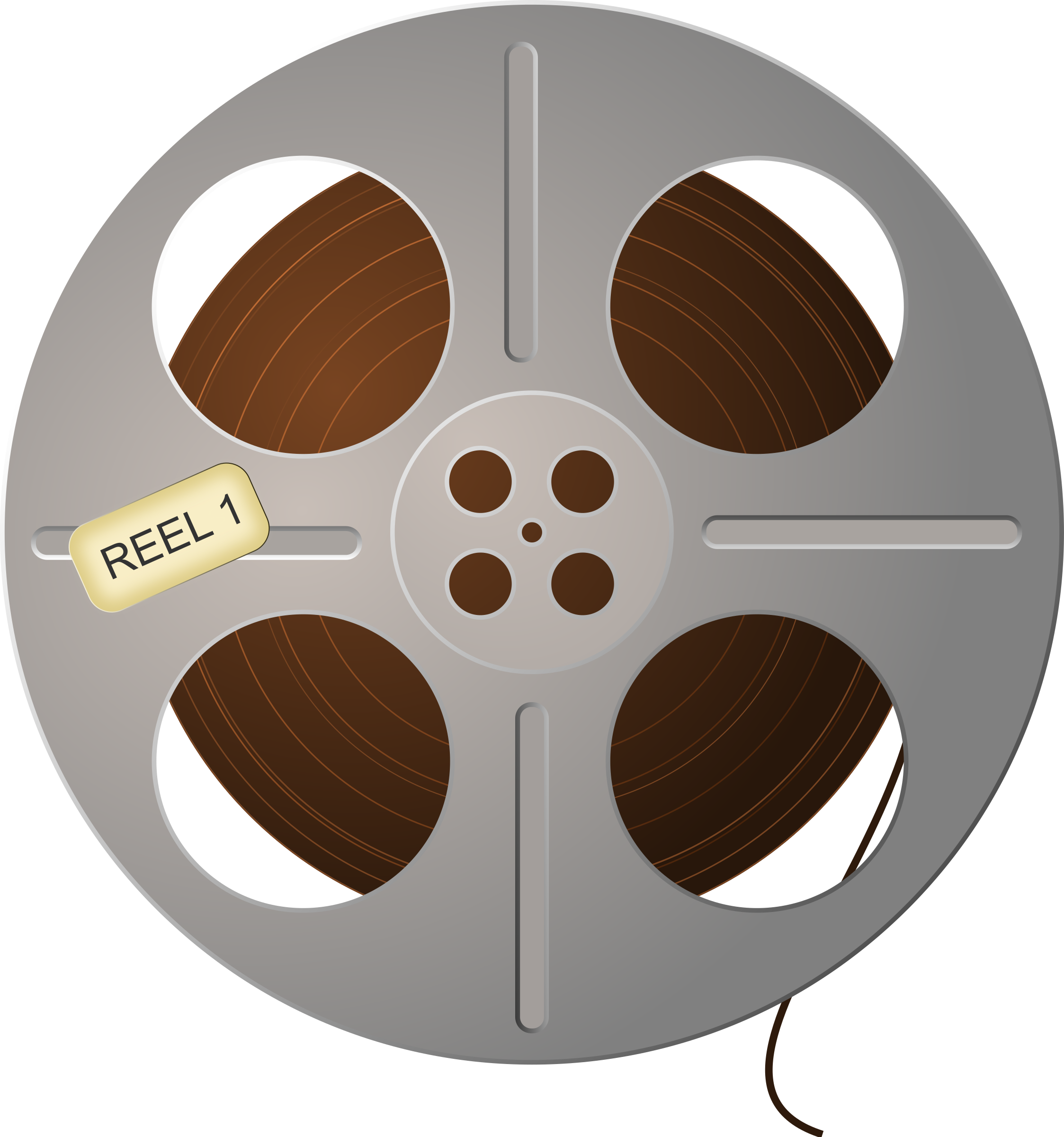 Film Tape Reel by studio_hades