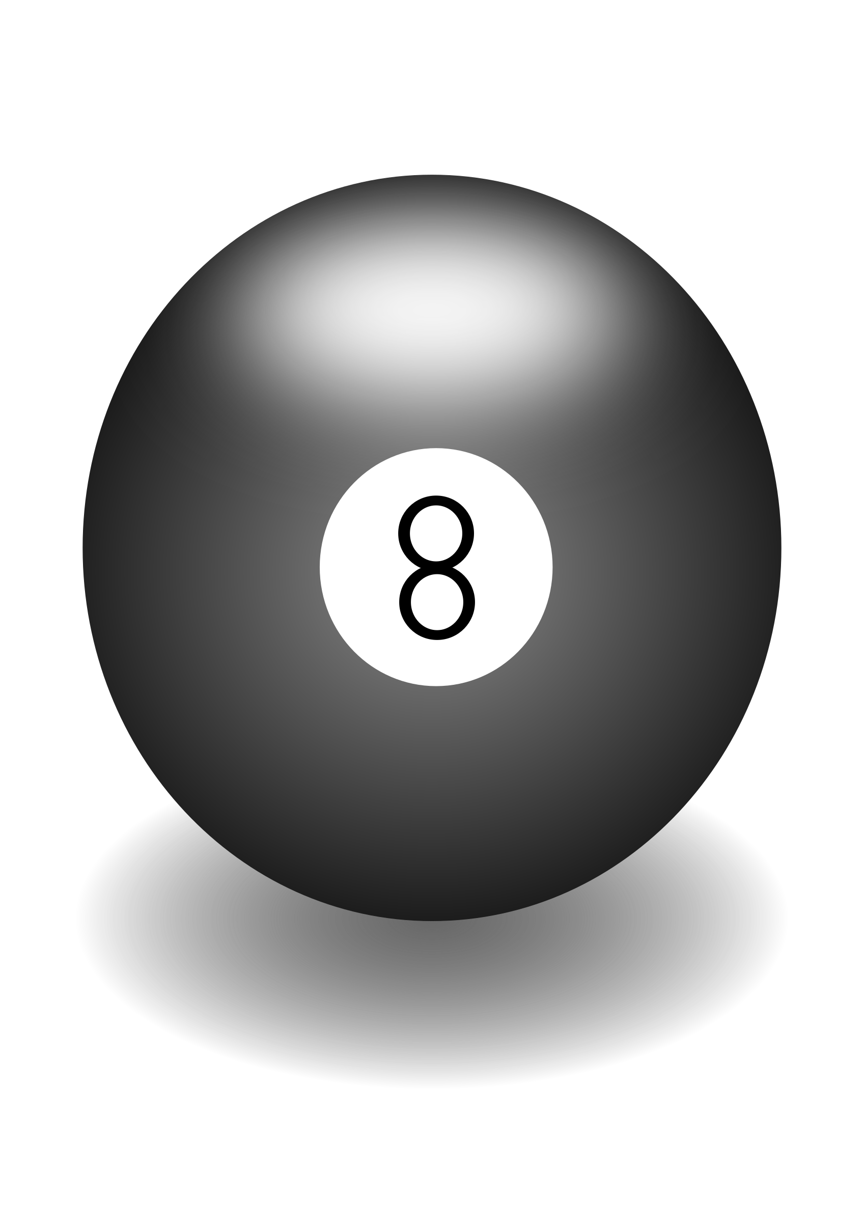 eight ball by Artmaker