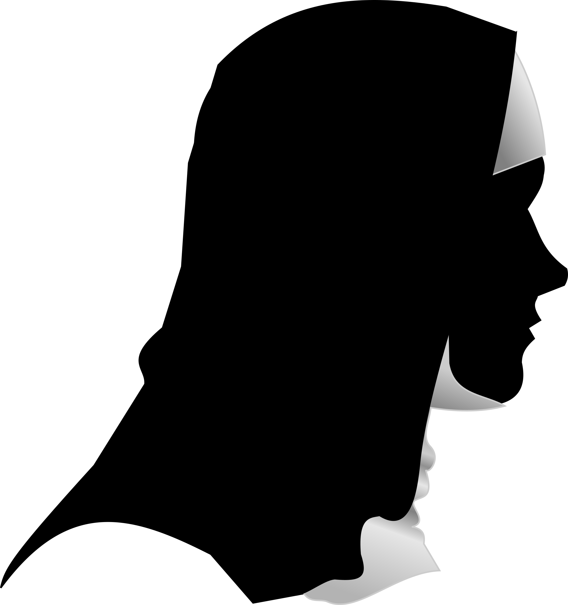 Catholic Nun Silhouette Profile by studio_hades