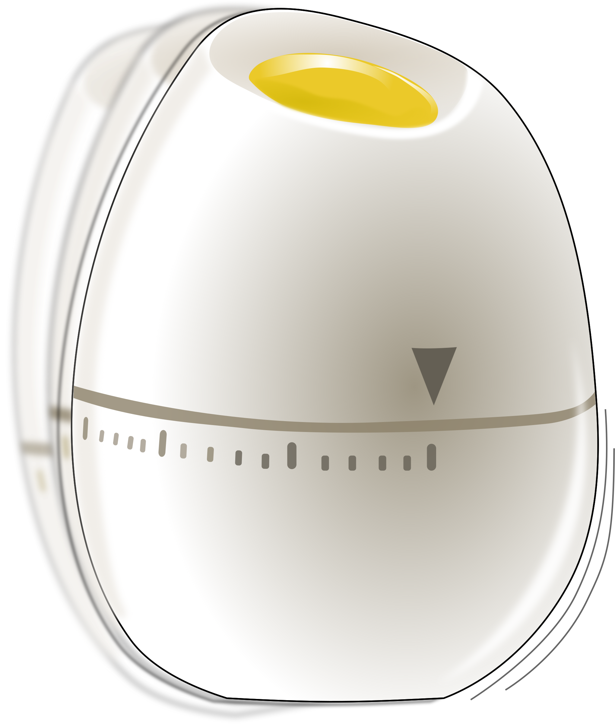 Shaking egg timer by Eggib