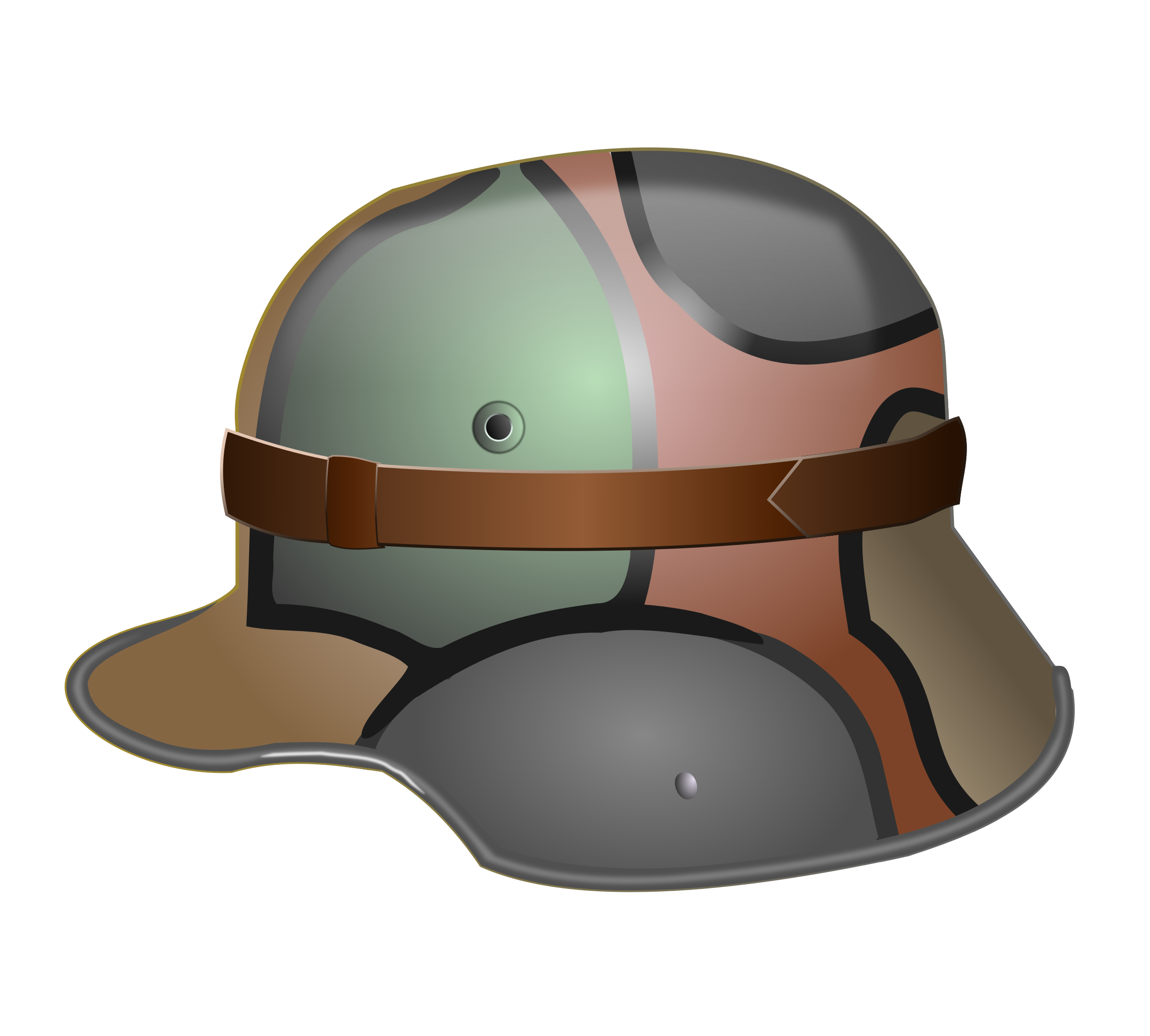 M1916 German WW1 Camo Helmet by studio_hades