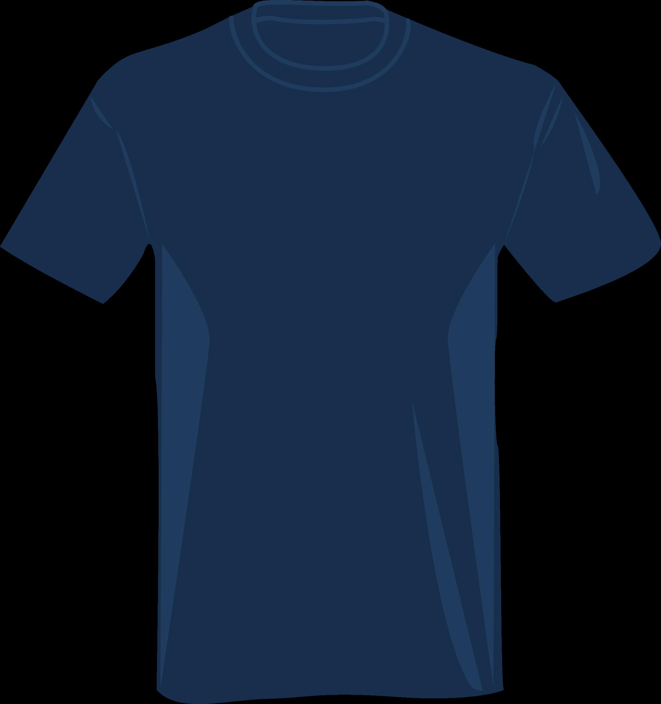 Clipart blue t shirt for Navy blue t shirt template