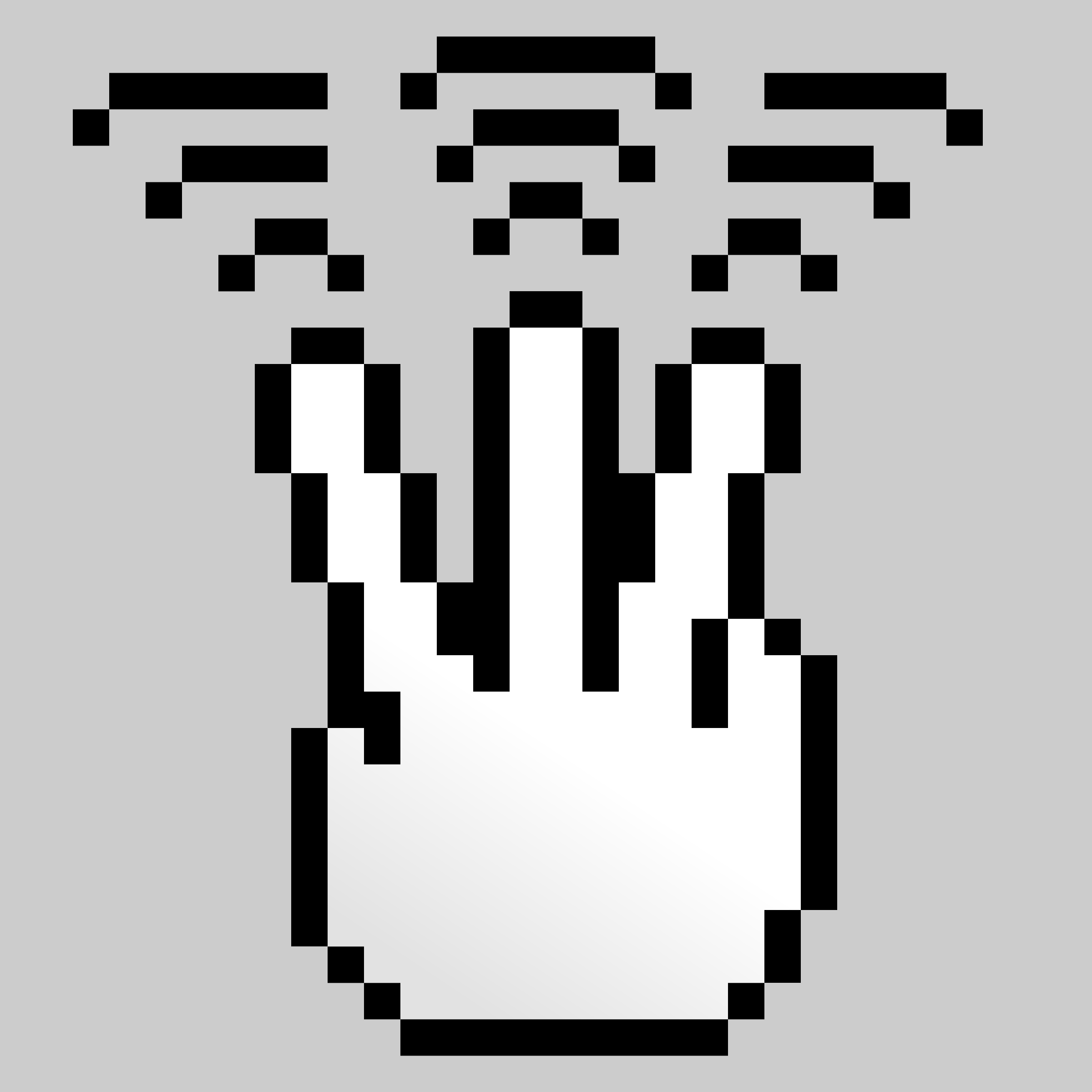 MultiTouch-Interface Pixel-theme 3-fingers-Triple-Tap by BenBois