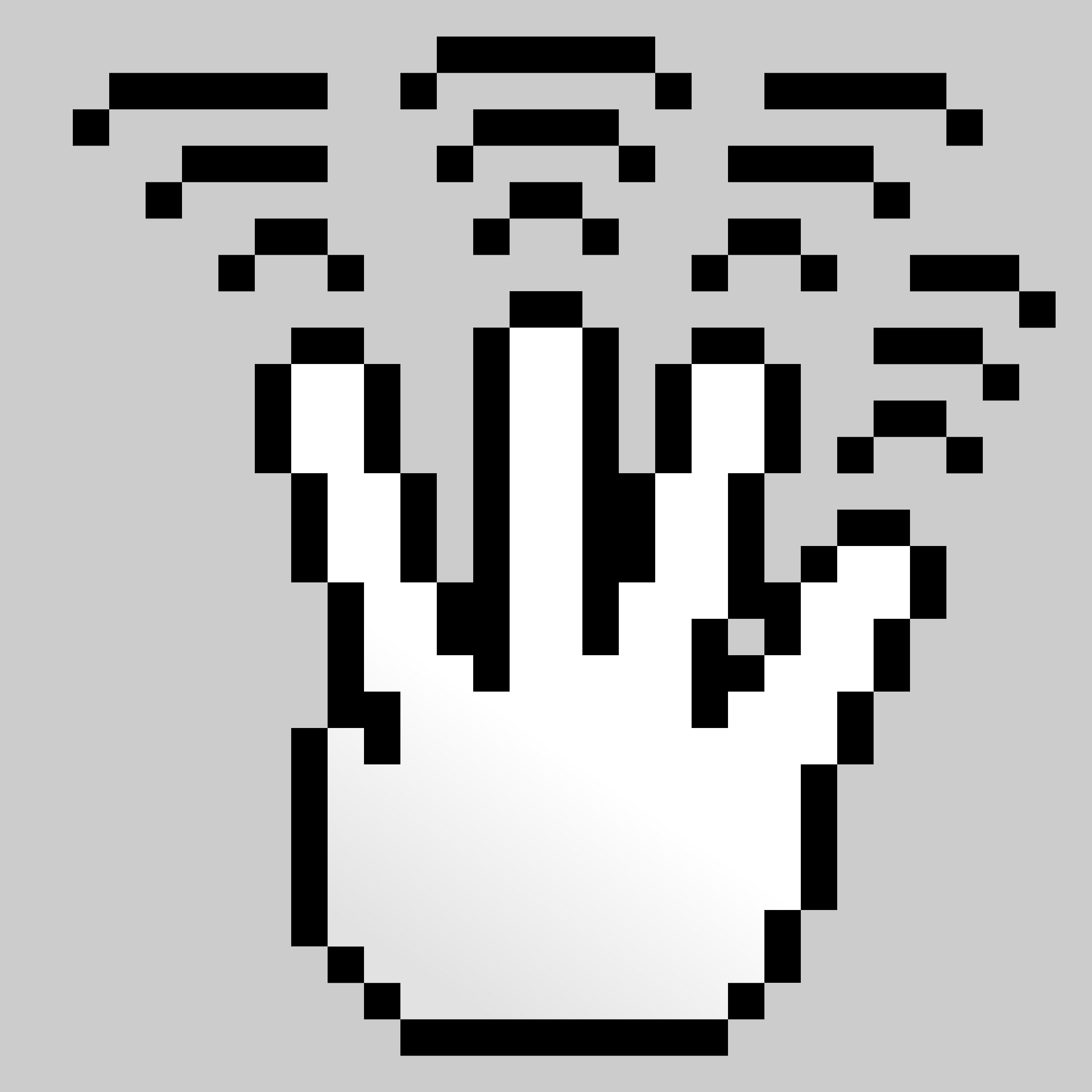 MultiTouch-Interface Pixel-theme 4-fingers-Triple-Tap by BenBois