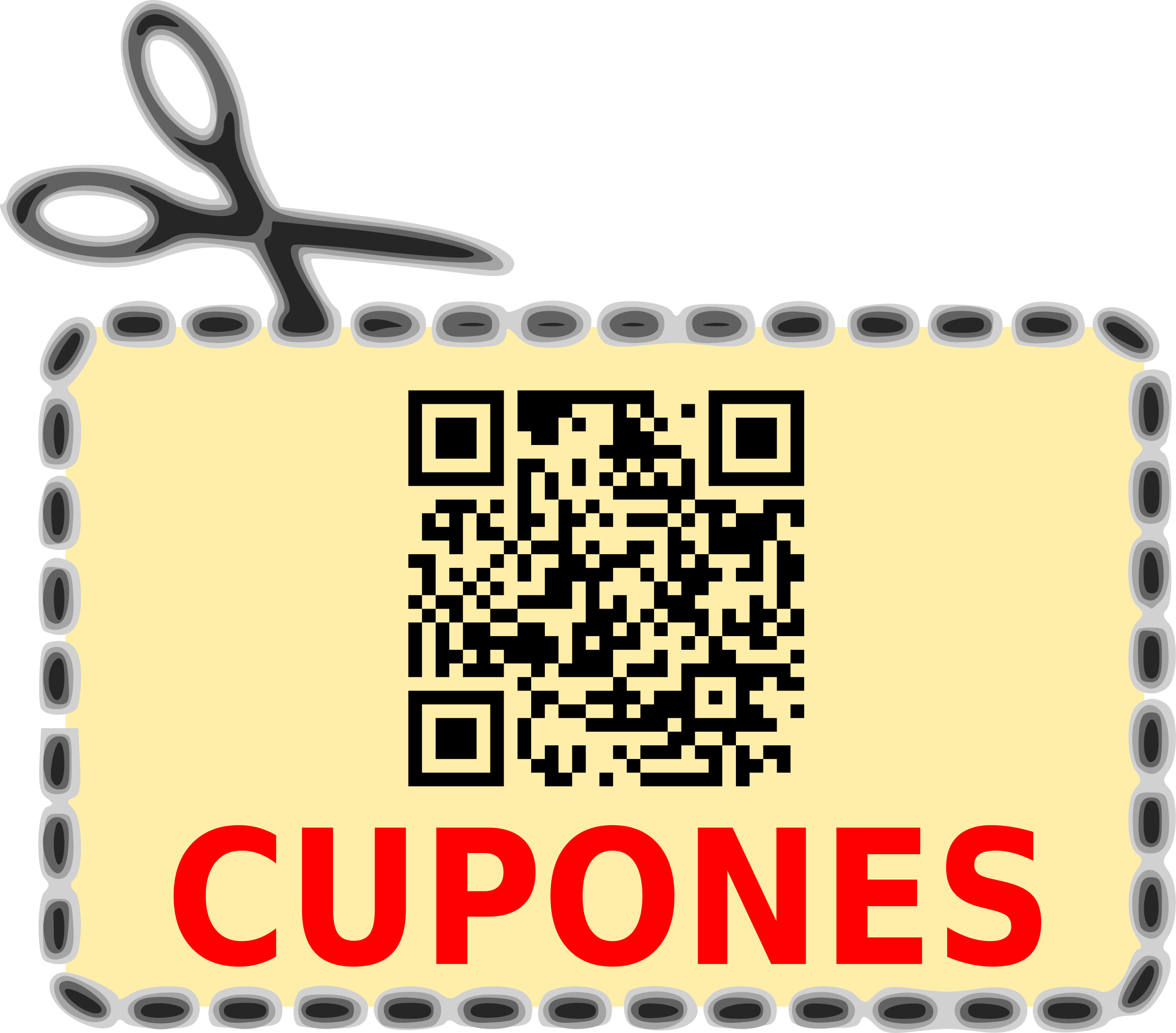 QR Coupon by lbear