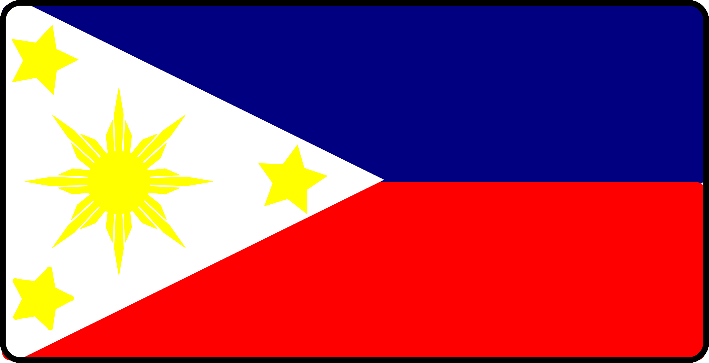 Philippines Flag by arcdroid