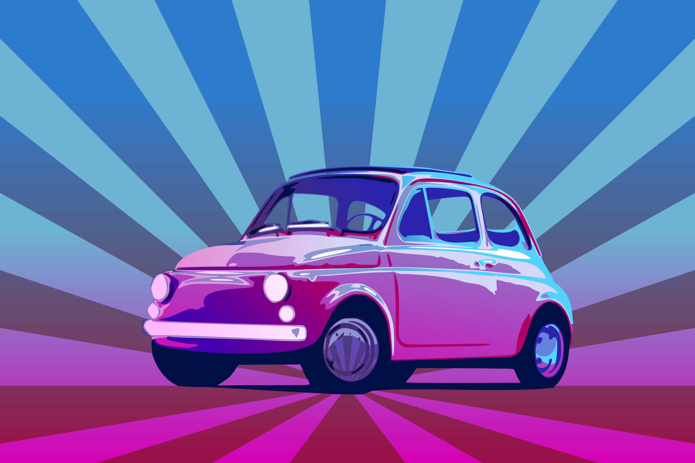 Fiat 500 by Purator