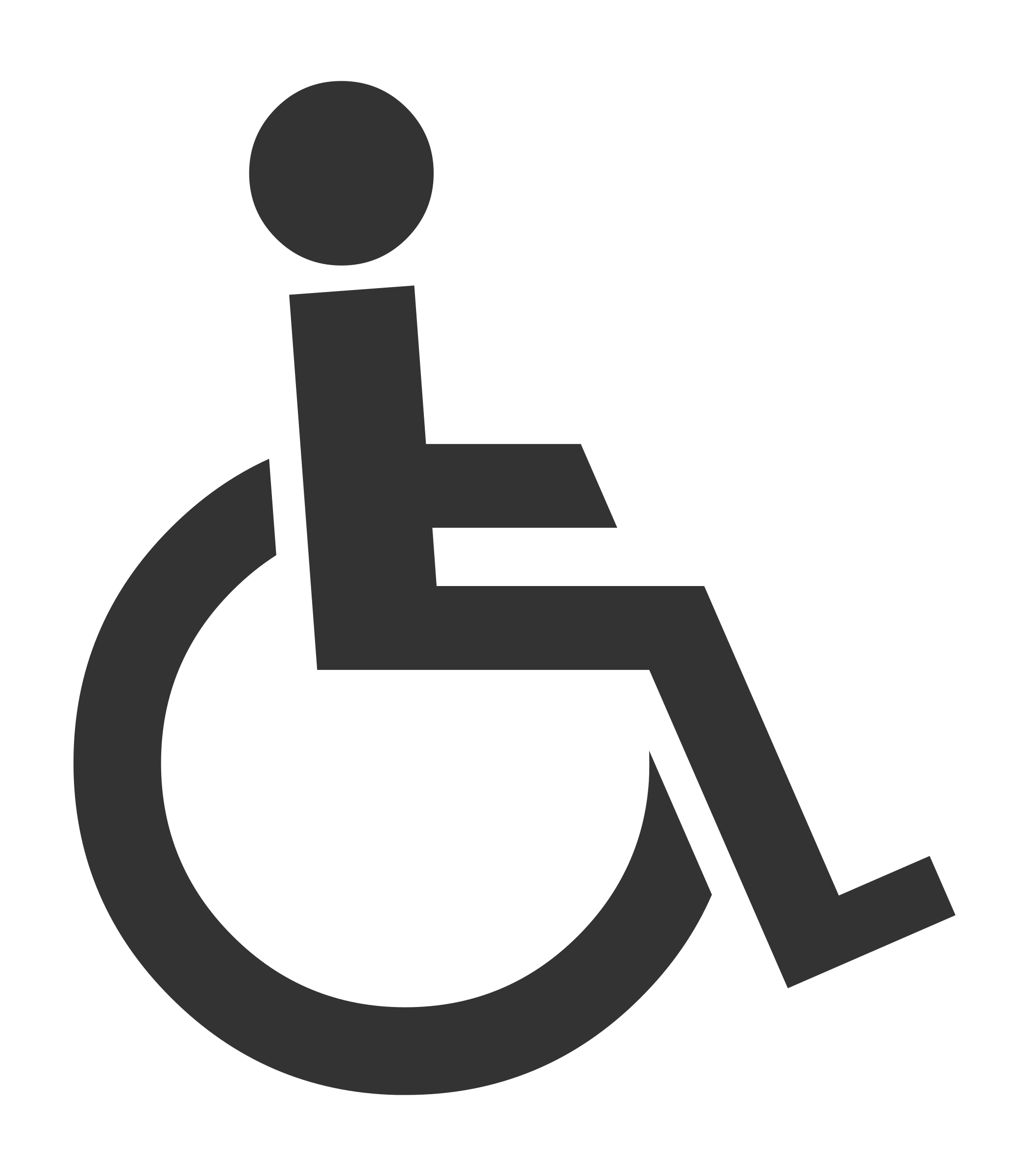 BIG IMAGE  PNG. Clipart   The Symbol of Disabled Man