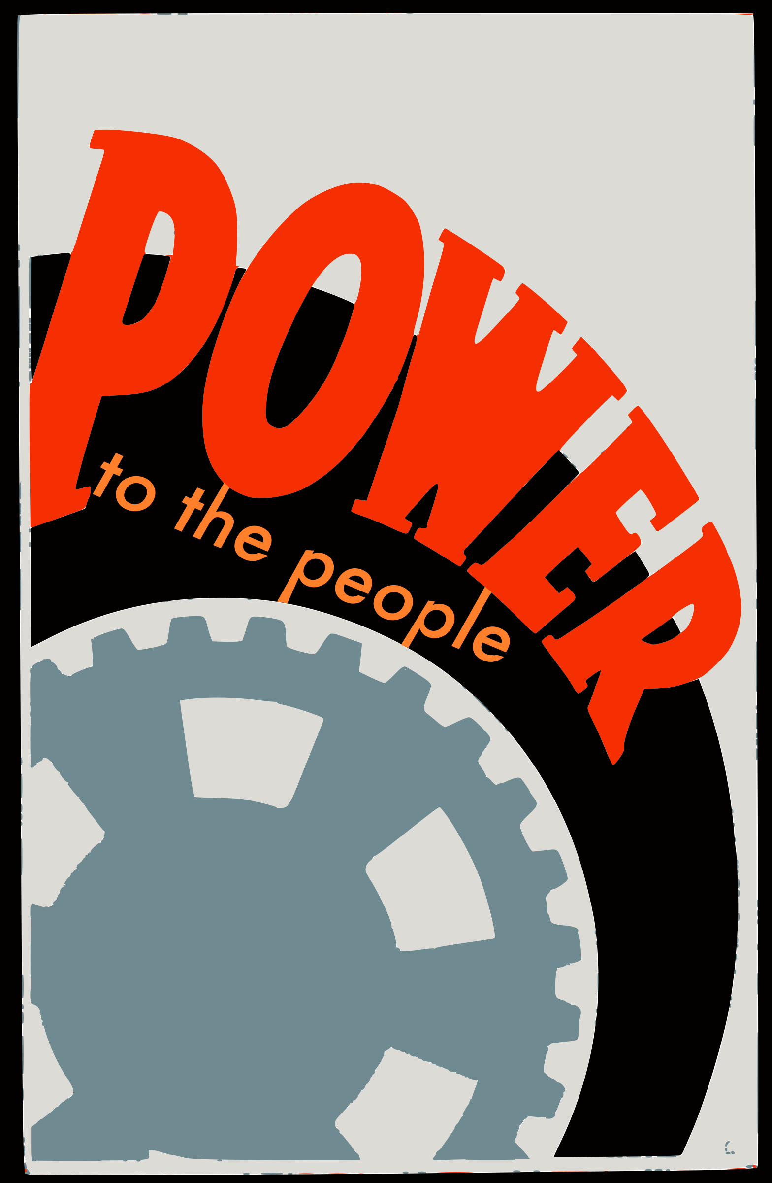 Power to the People by j4p4n