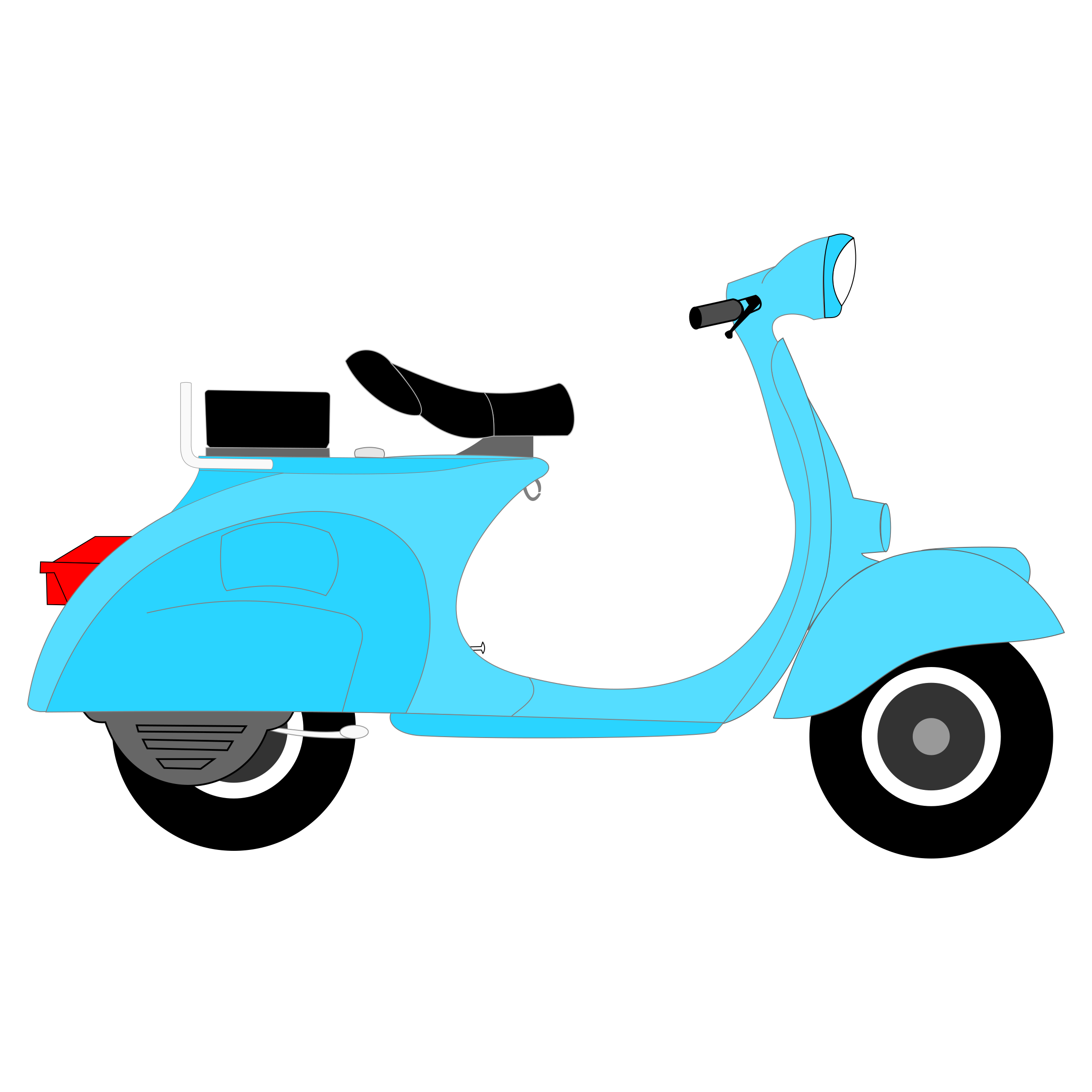 Vespa 1957 by protogenoi