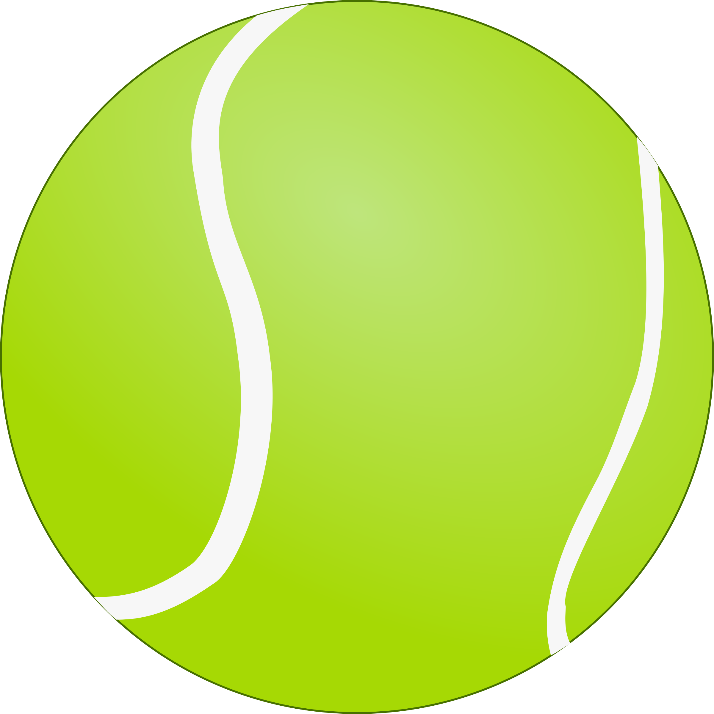 Tennis Ball - Bola de Tenis by lunik