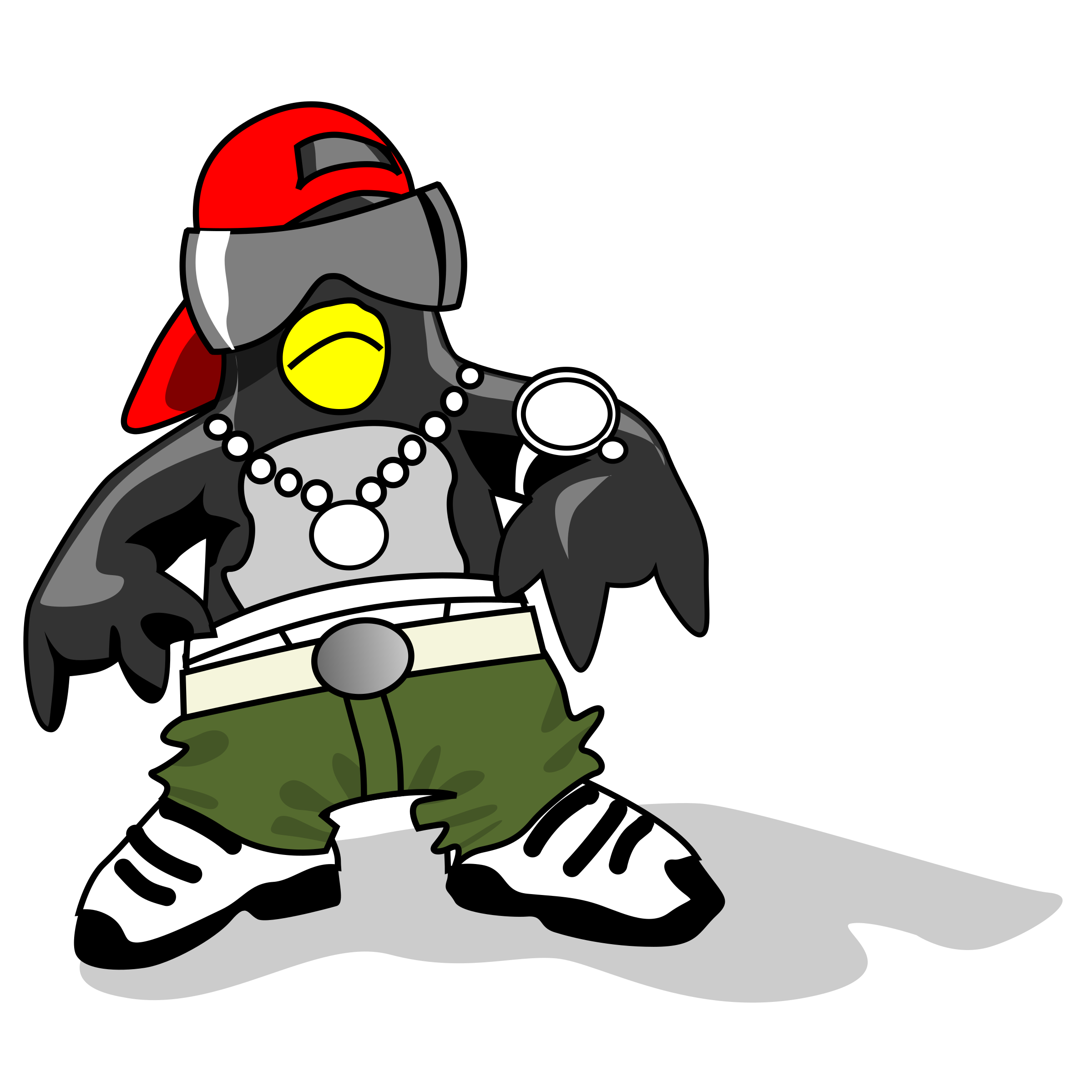 Hip-Hop Tux by fejack