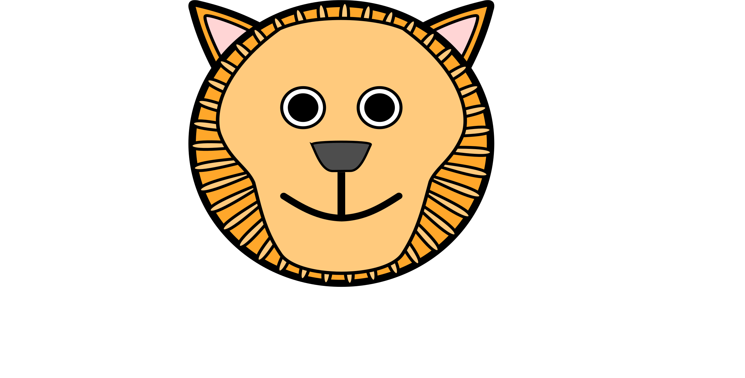 L for Lion by pranav