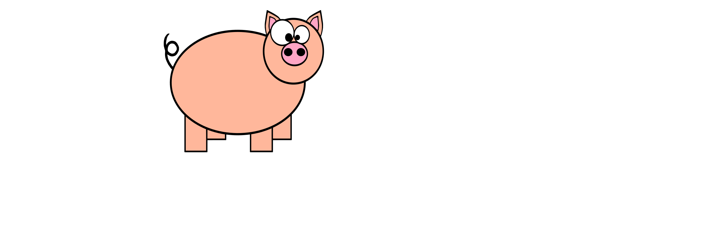 P for Pig by pranav