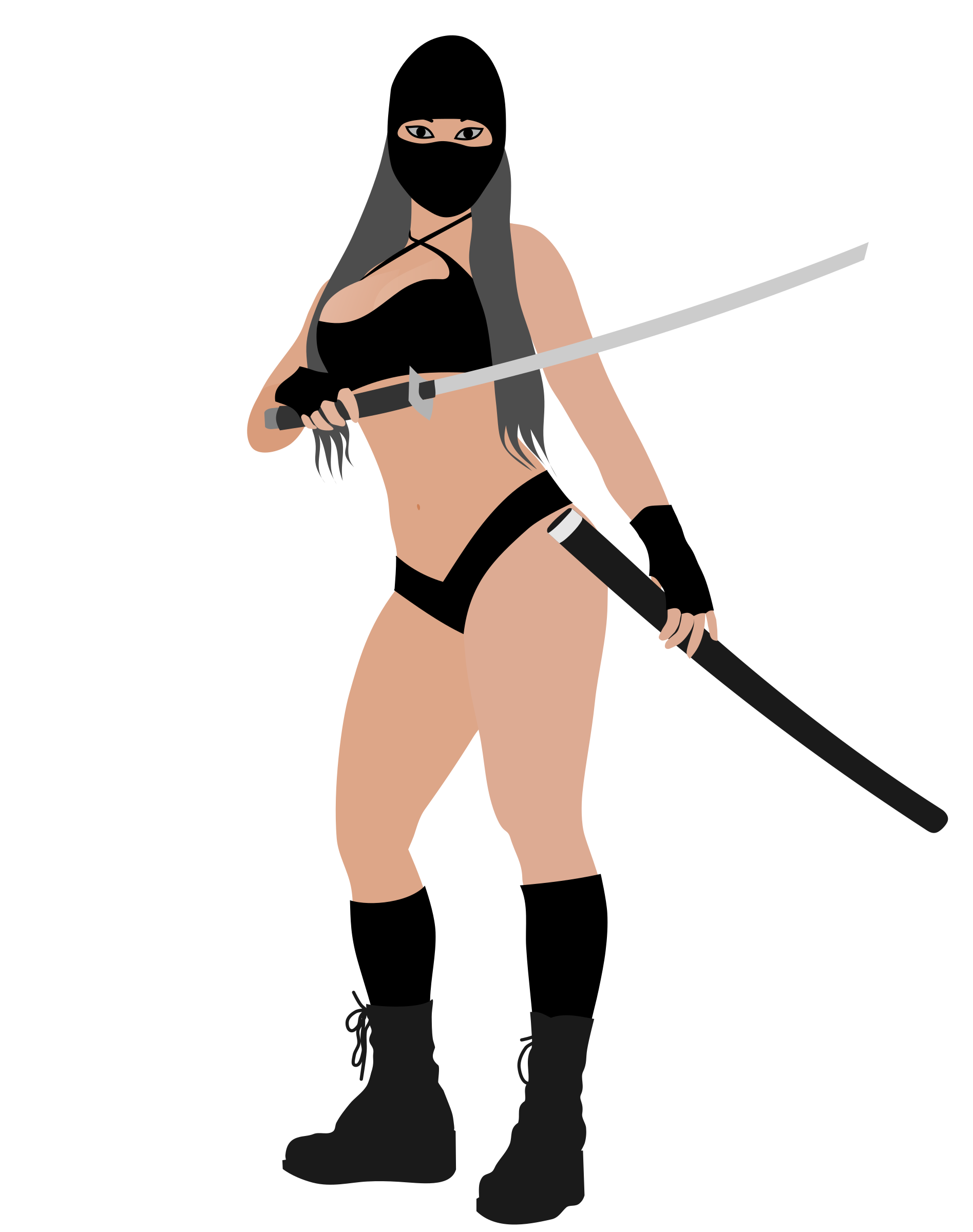 Ninja girl by rones