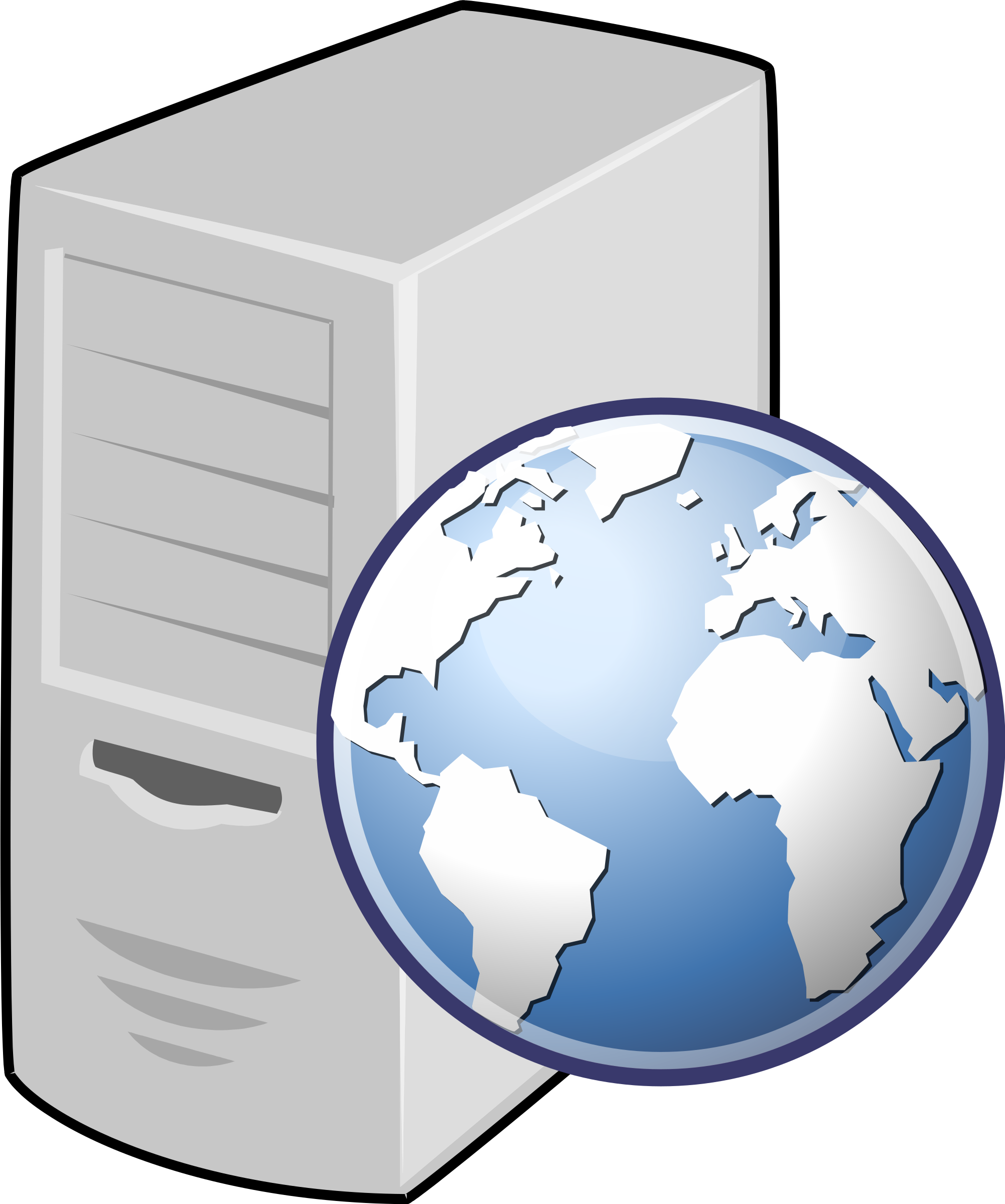 clipart web server