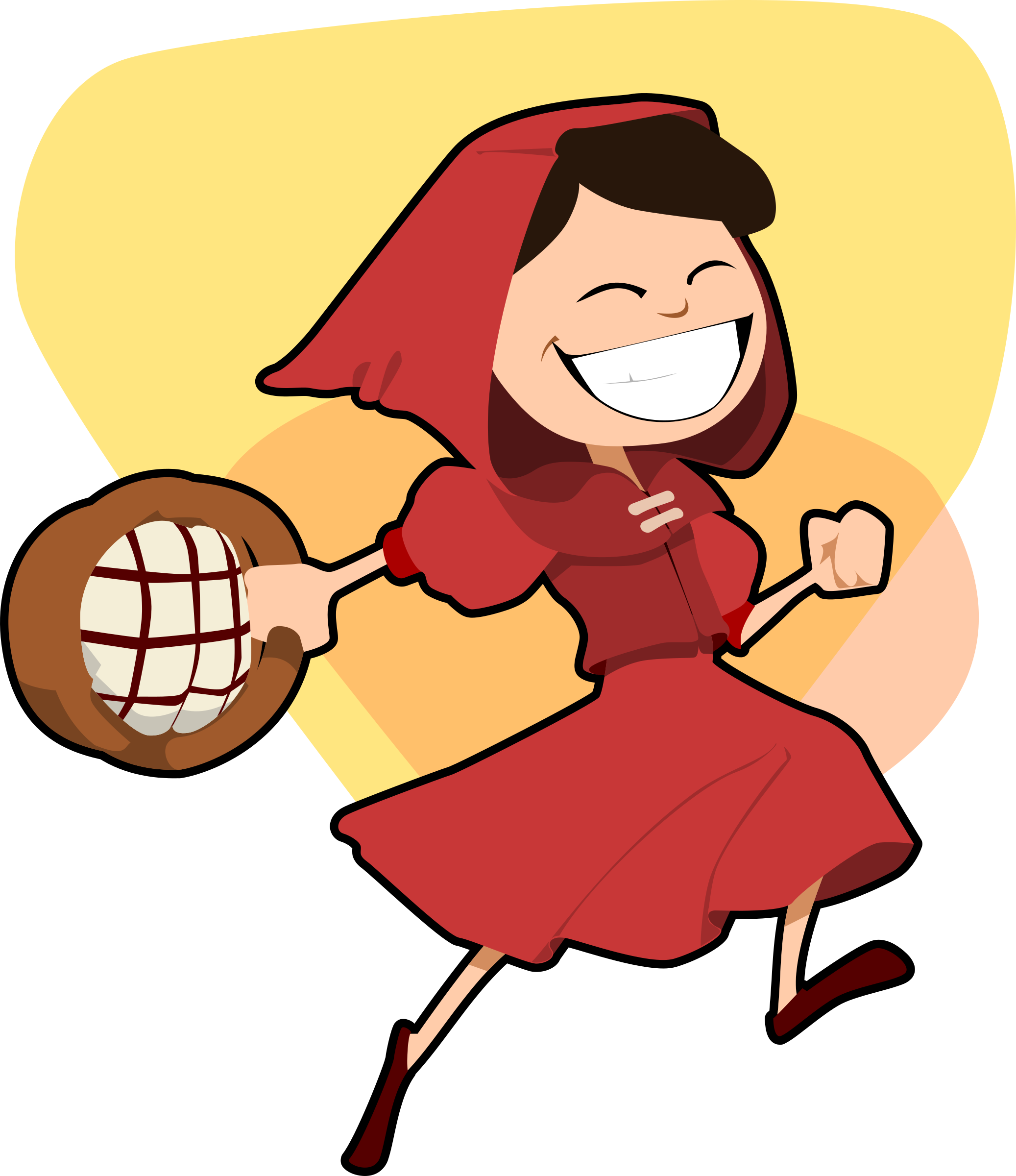 clipart little red riding hood rh openclipart org little red riding hood clipart red riding hood characters clipart