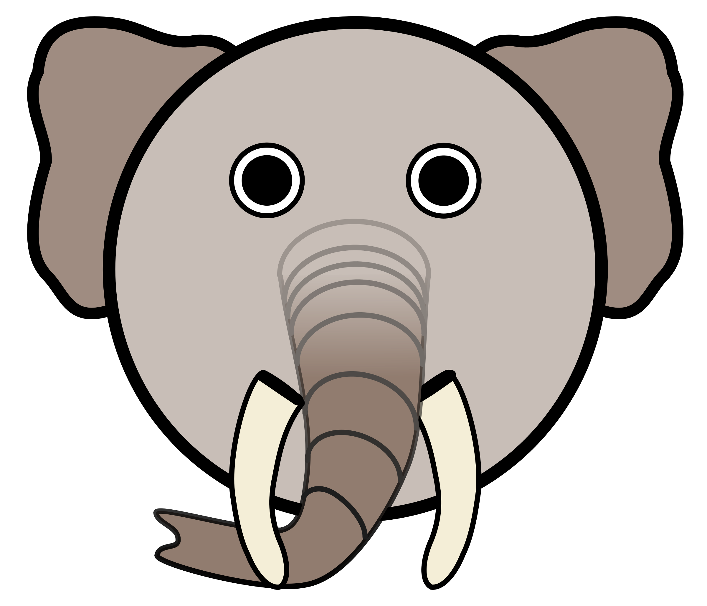 Elephant by Linuxien