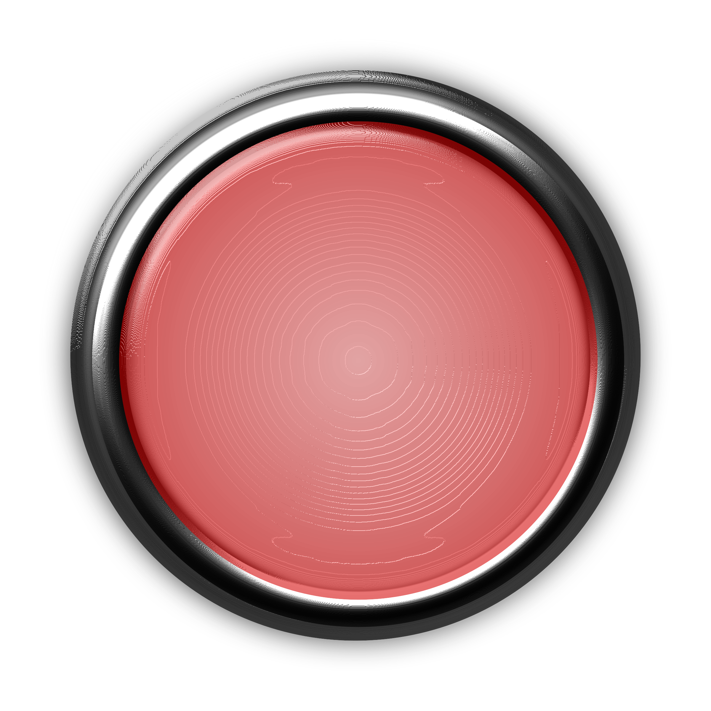 Red Button with Internal Light by GR8DAN
