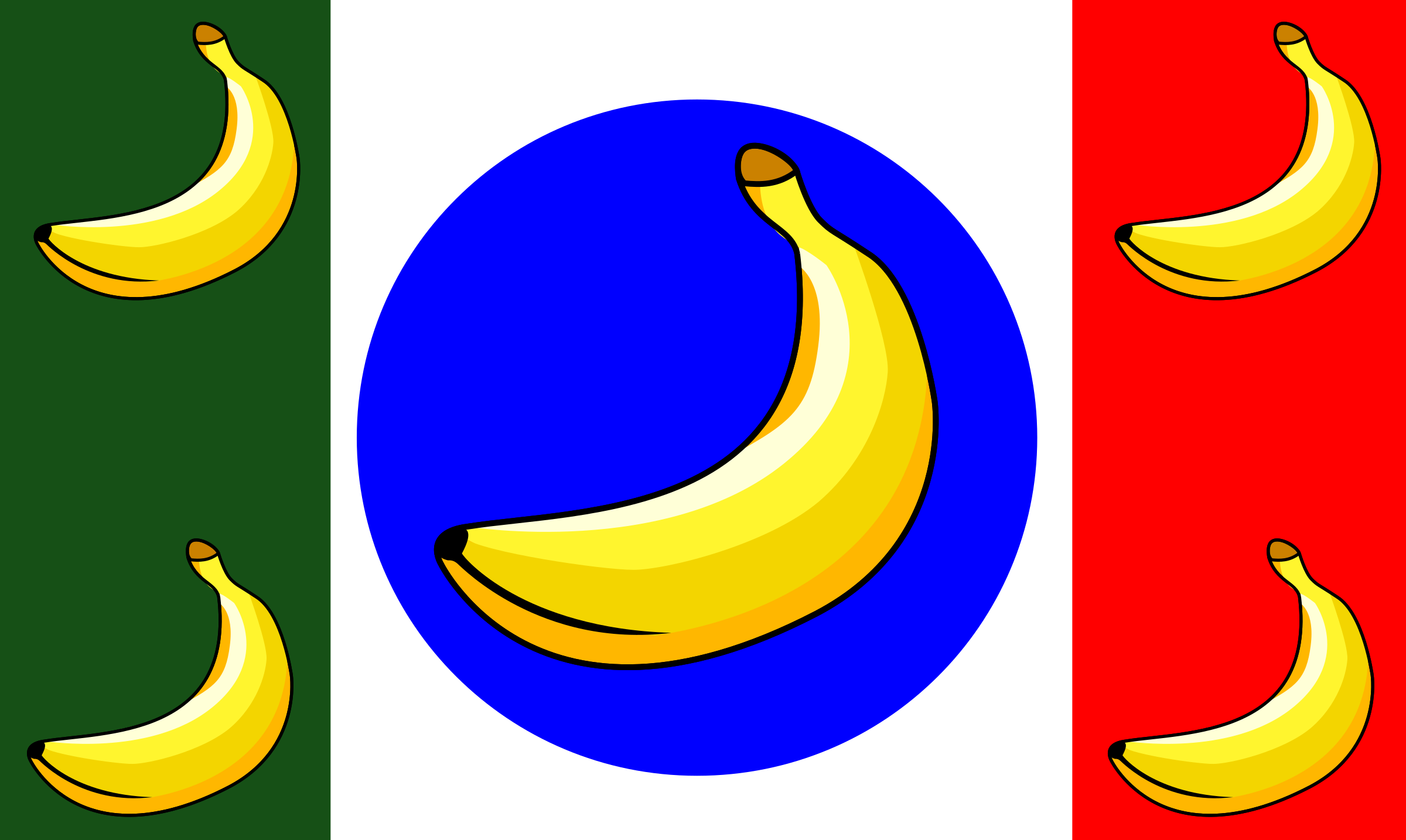 it remix Banana Republic Flag by picapica