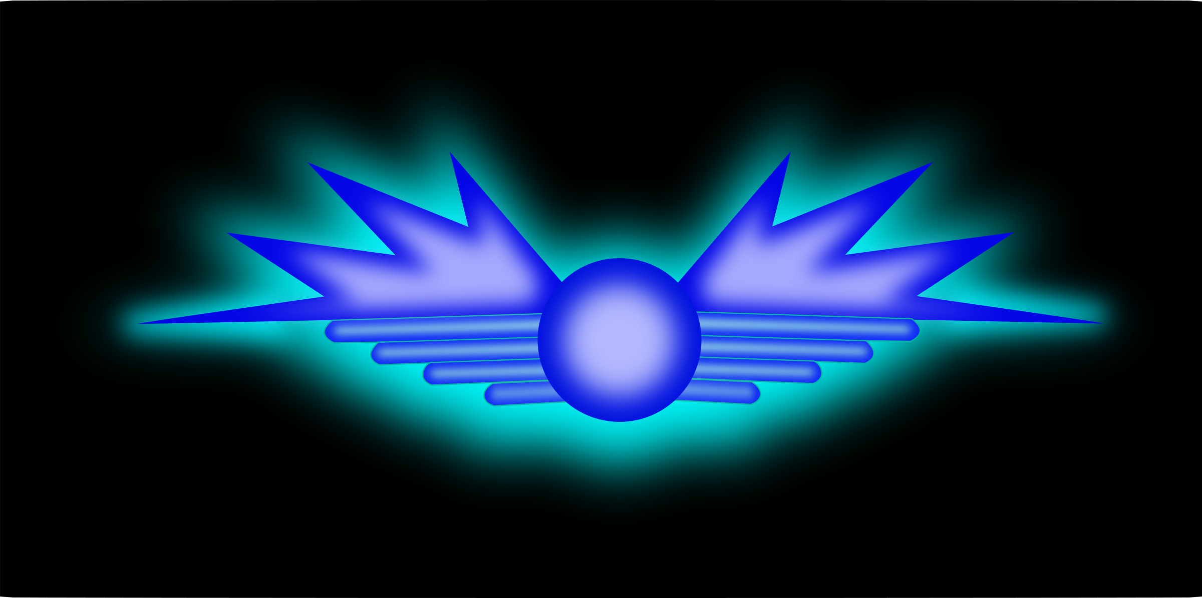 Glowing Wing Symbol by mystica
