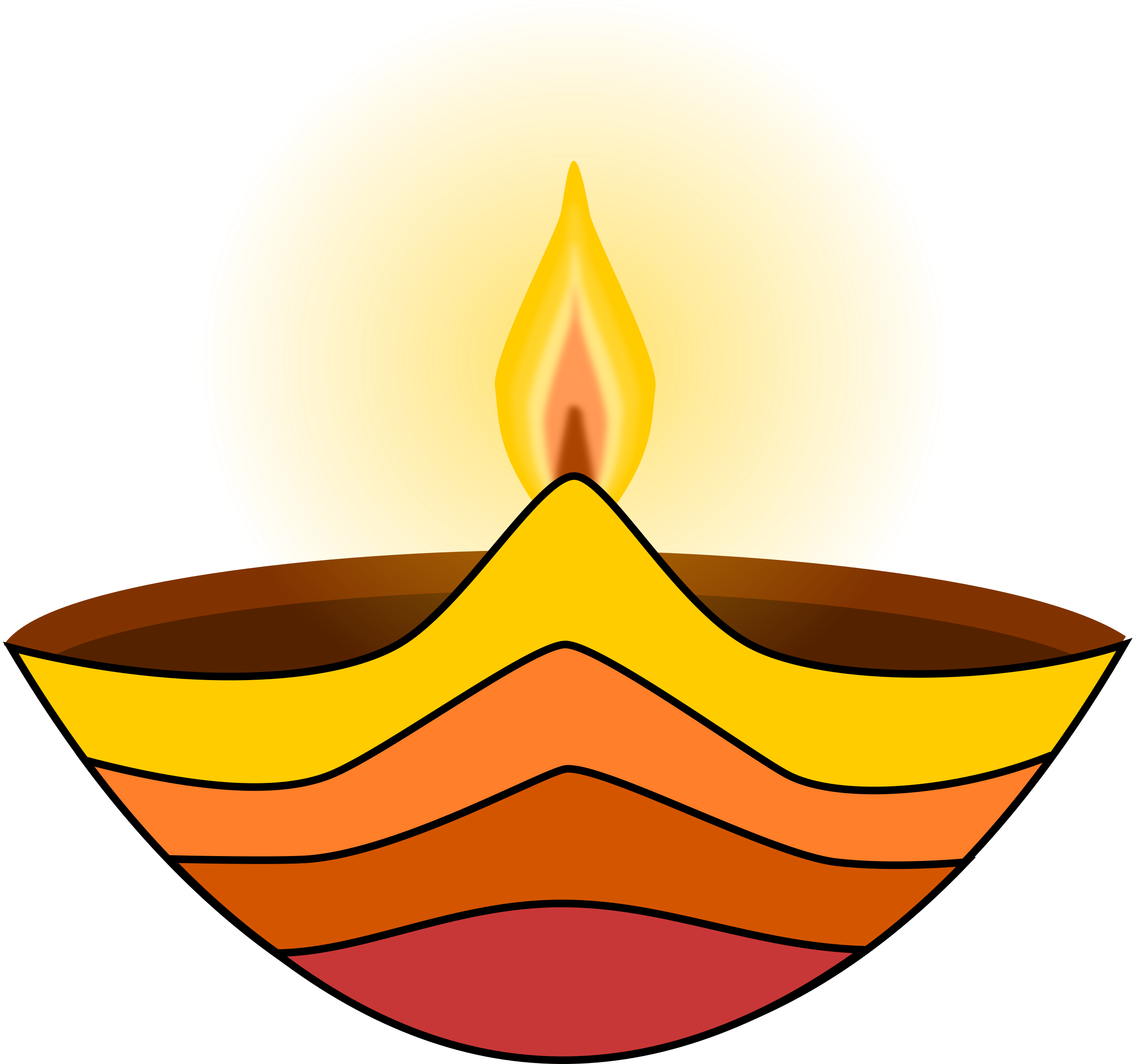 Diwali lamp by zeimusu