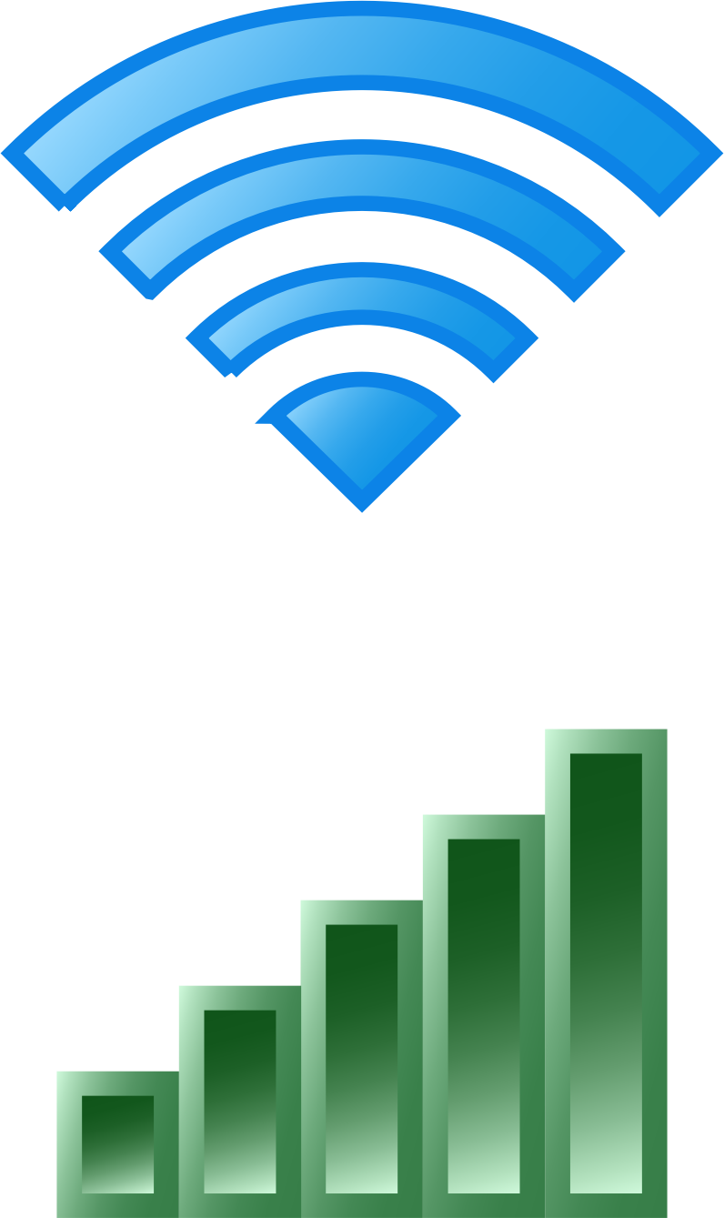 Wireless Icons by bnsonger47
