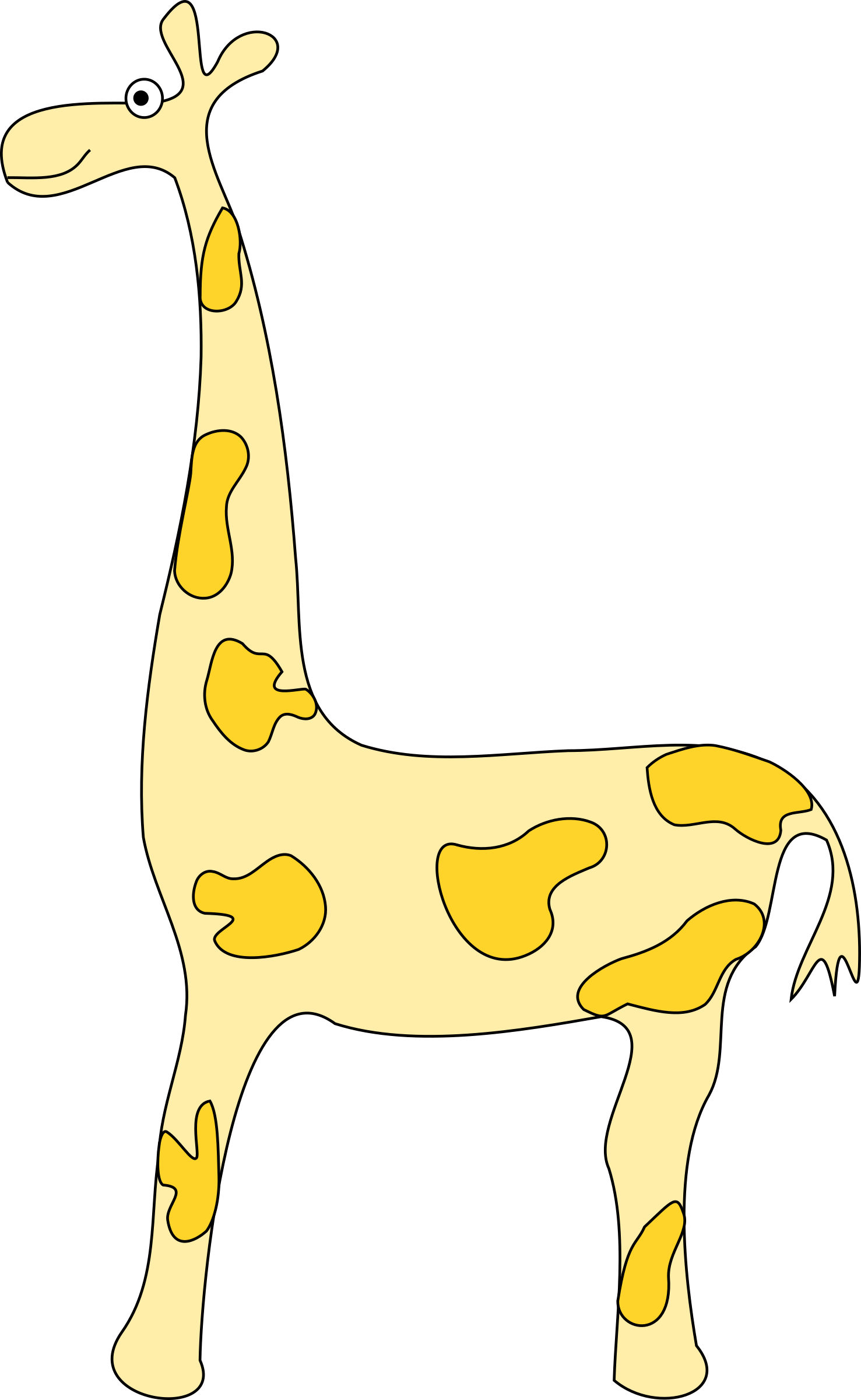 Girafe by cyrille