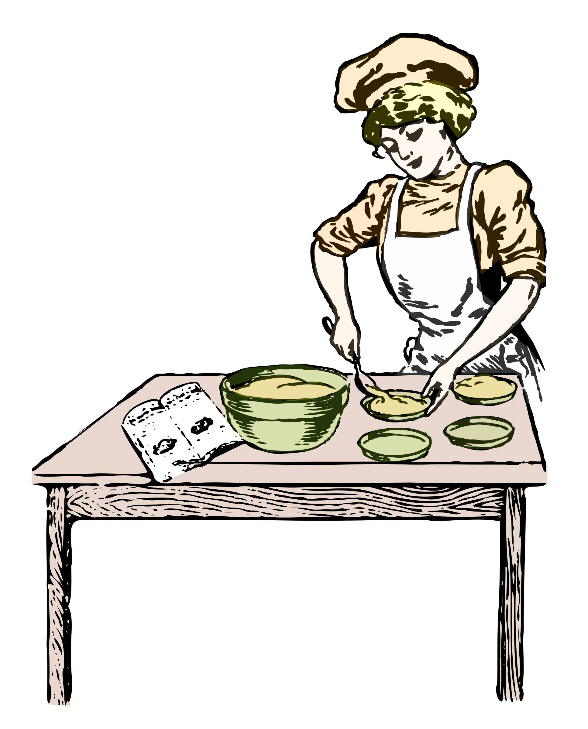 Baker in color by salvor