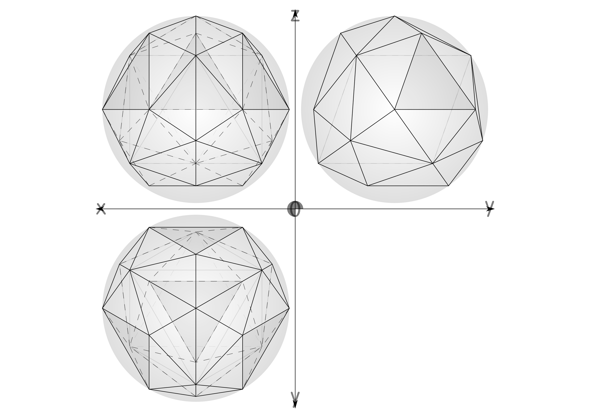 27 construction geodesic spheres recursive from tetrahedron by ric5sch