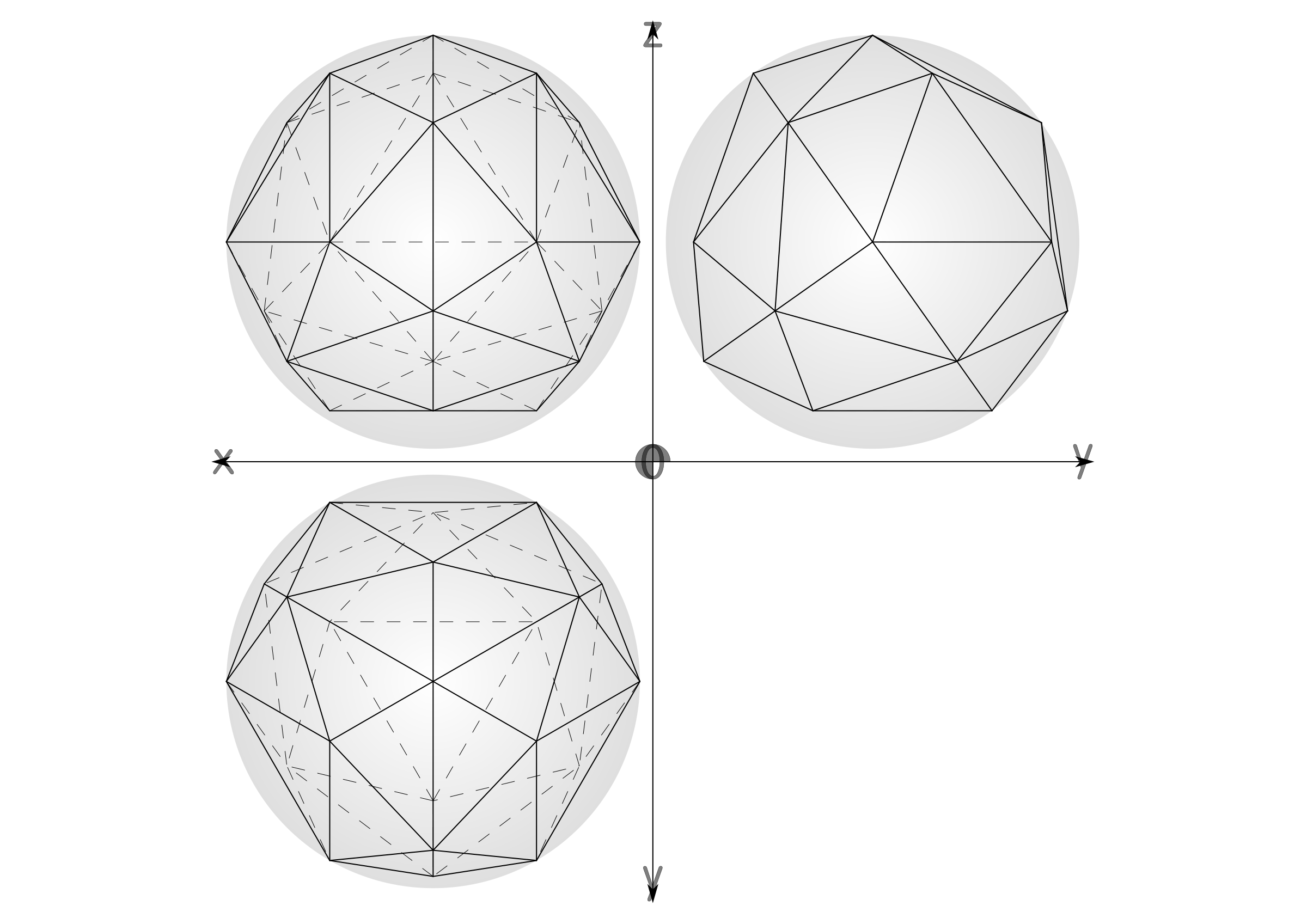 28 construction geodesic spheres recursive from tetrahedron by ric5sch